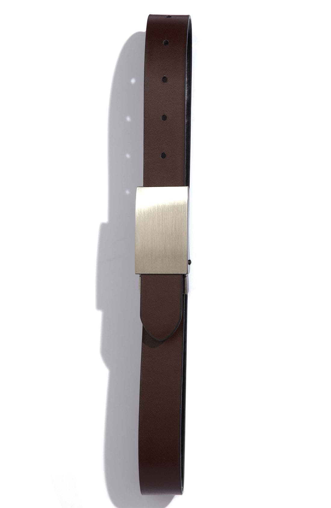 Alternate Image 2  - Joseph Abboud Reversible Belt (Big Boys)