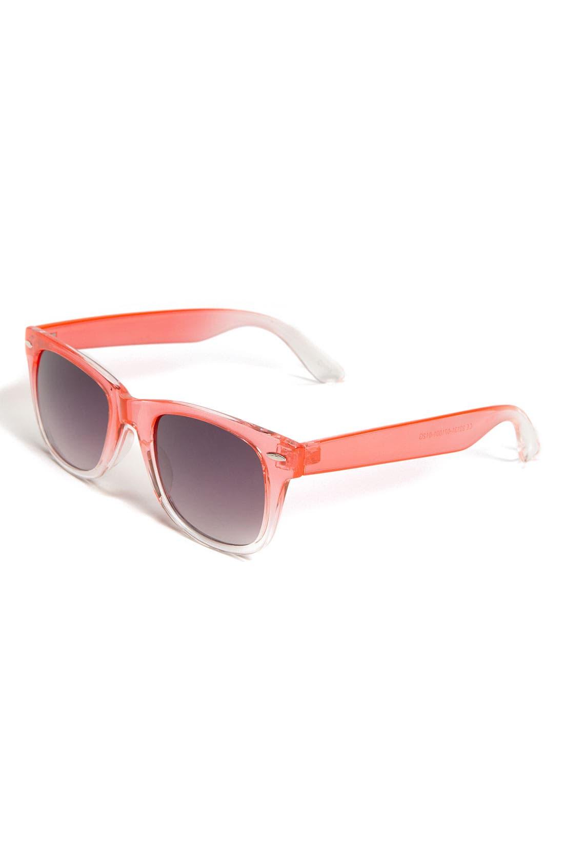 Main Image - Icon Eyewear Ombré Sunglasses (Girls)