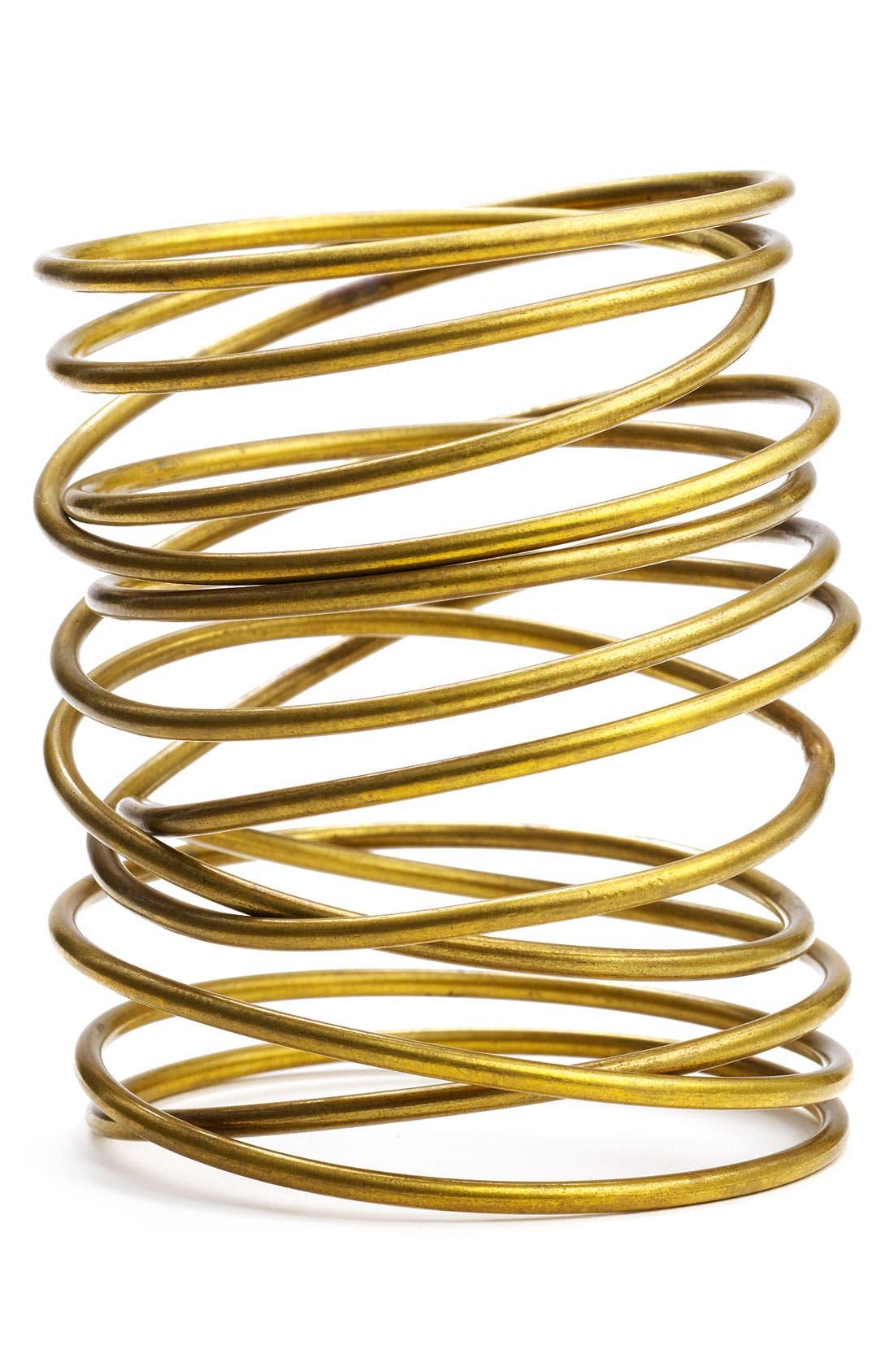 Alternate Image 1 Selected - Kelly Wearstler Twisted Brass Bracelet