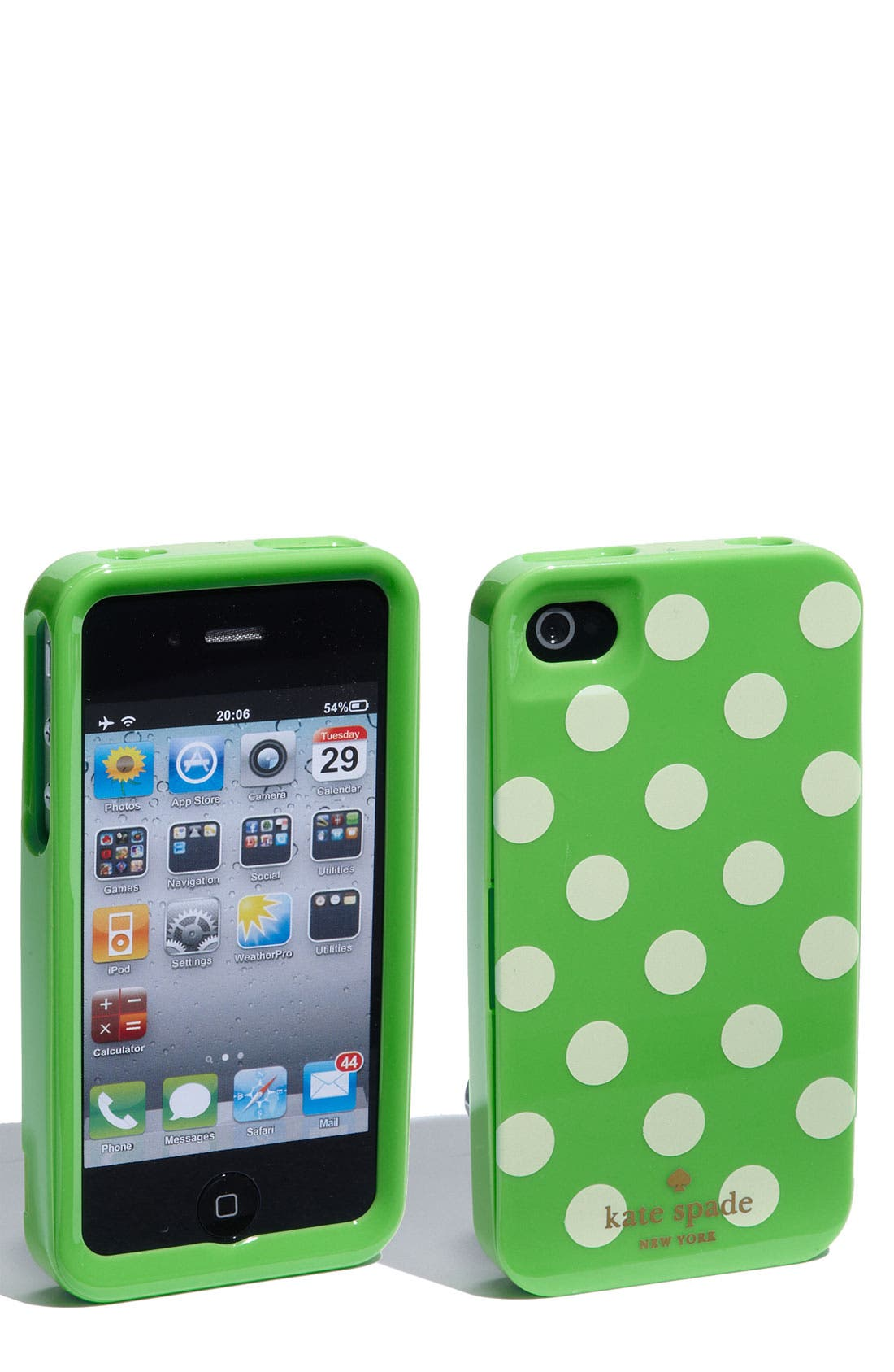 Alternate Image 1 Selected - kate spade new york rigid iPhone 4 & 4S case