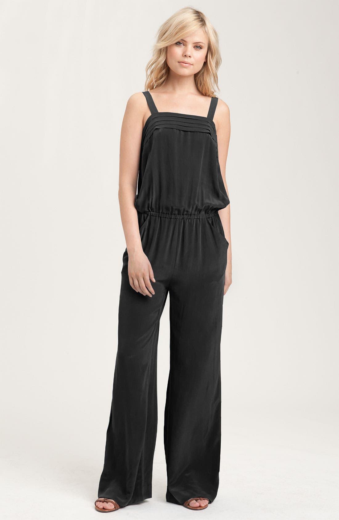 Main Image - Joie 'Alina' Silk Jumpsuit