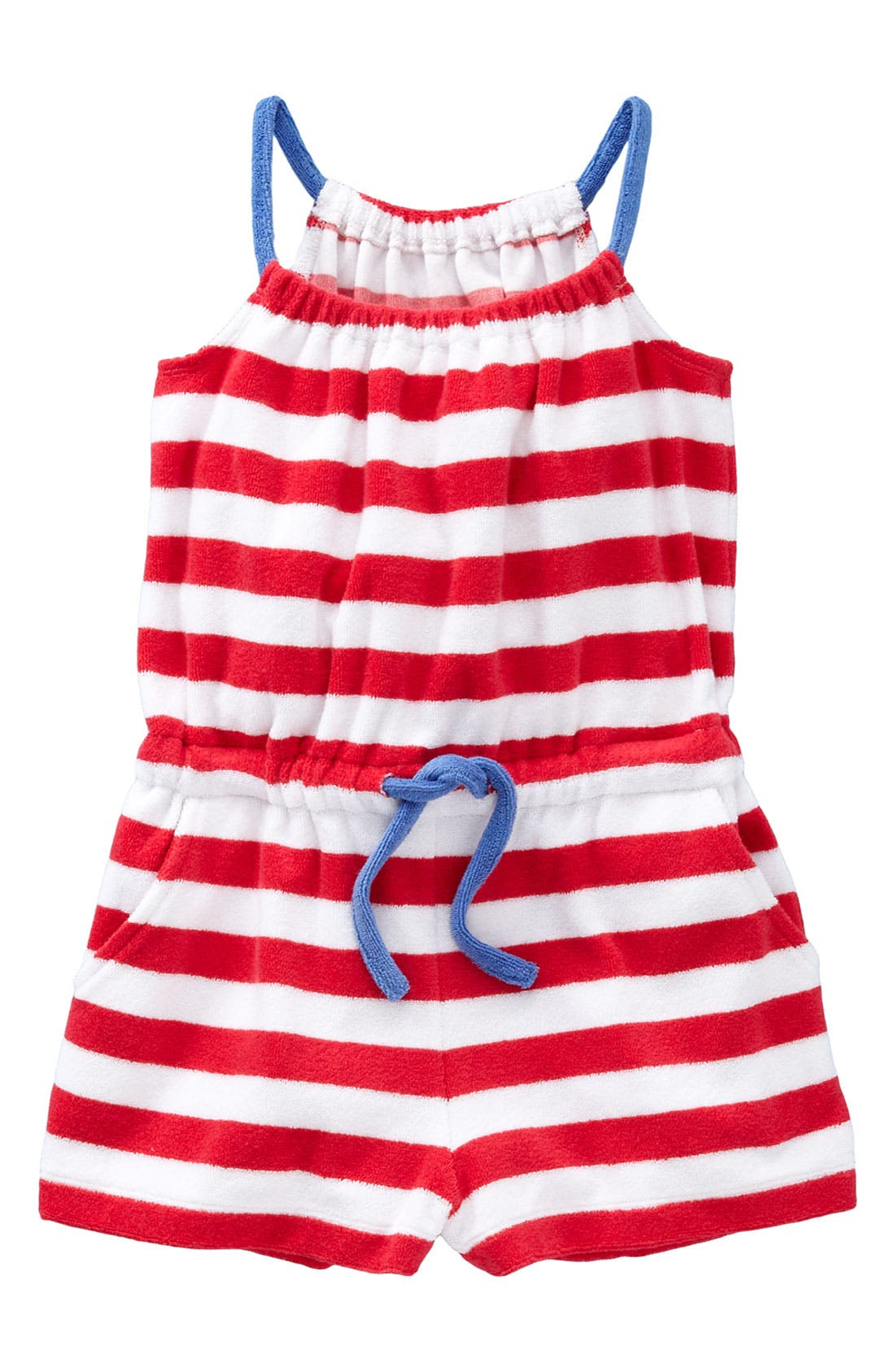 Alternate Image 1 Selected - Mini Boden Romper (Toddler)
