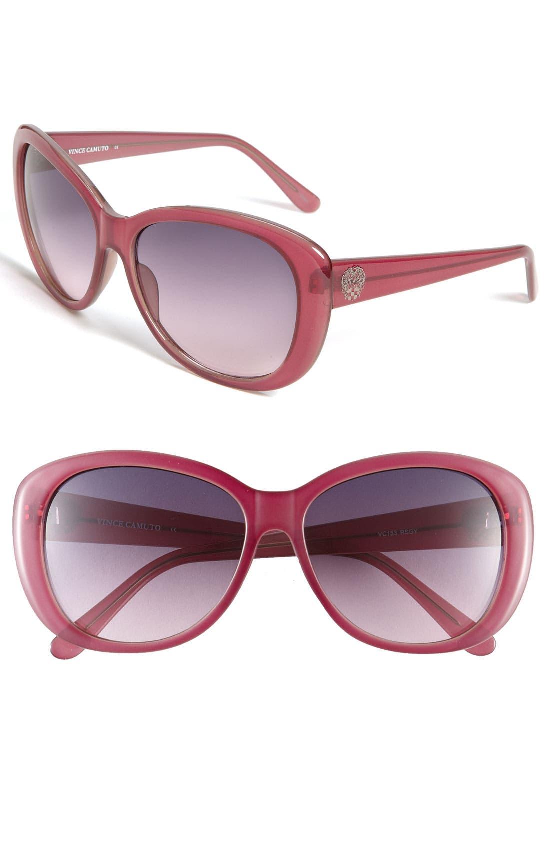 Main Image - Vince Camuto Plastic Sunglasses
