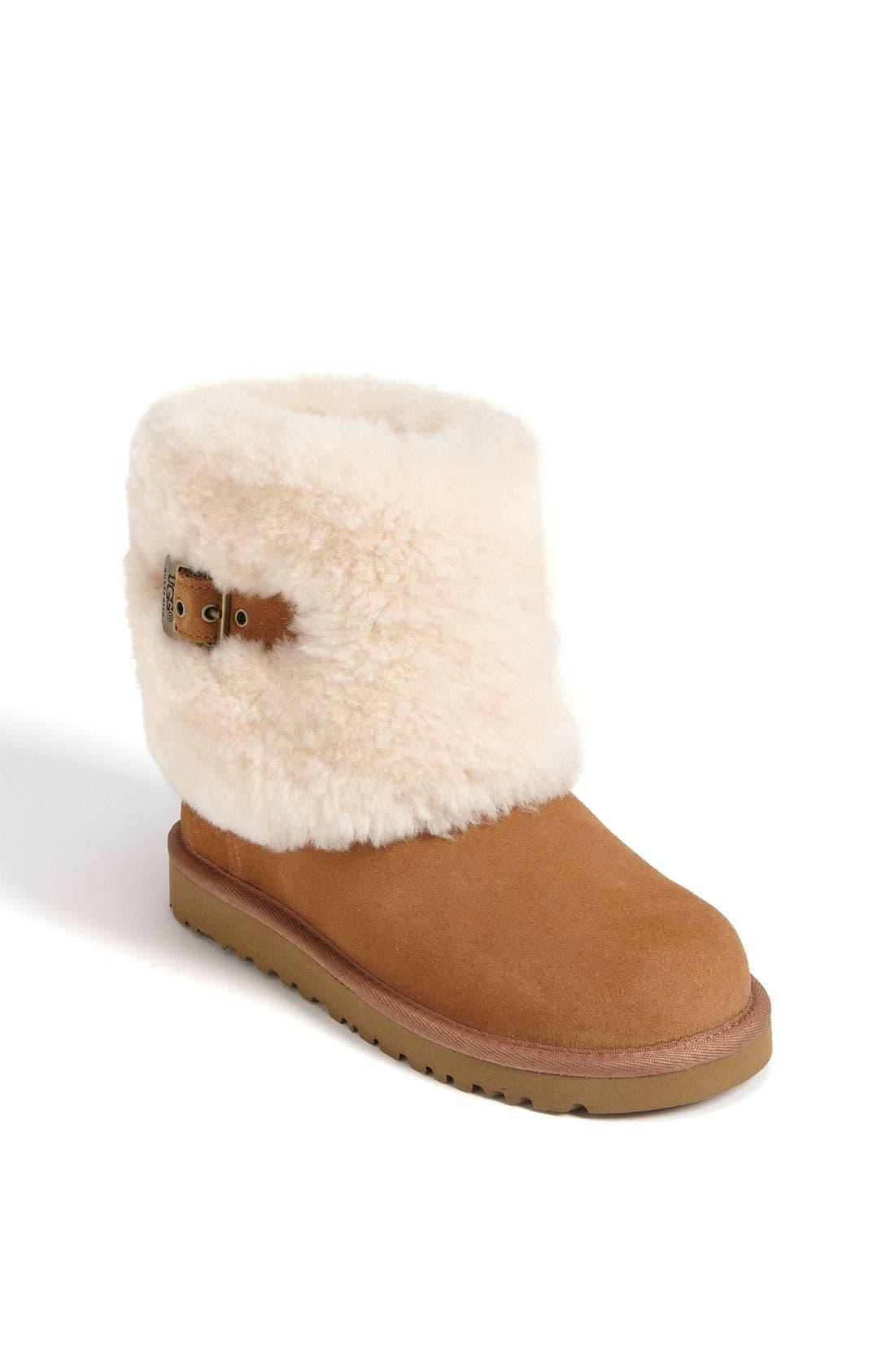 Alternate Image 1 Selected - UGG® 'Ellee' Boot (Toddler, Little Kid & Big Kid)