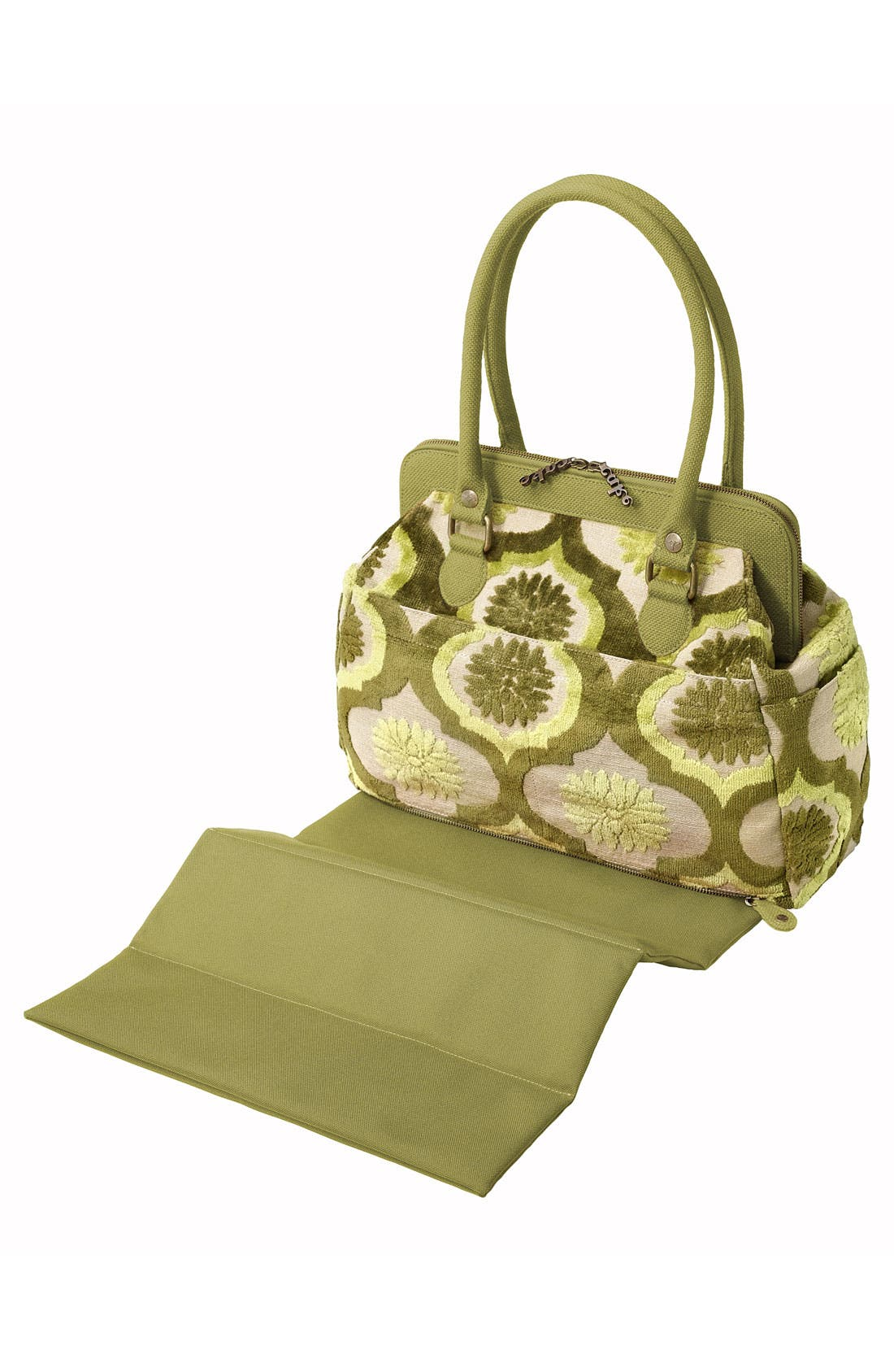 Alternate Image 3  - Petunia Pickle Bottom 'Cosmopolitan Carryall - Cake' Diaper Bag