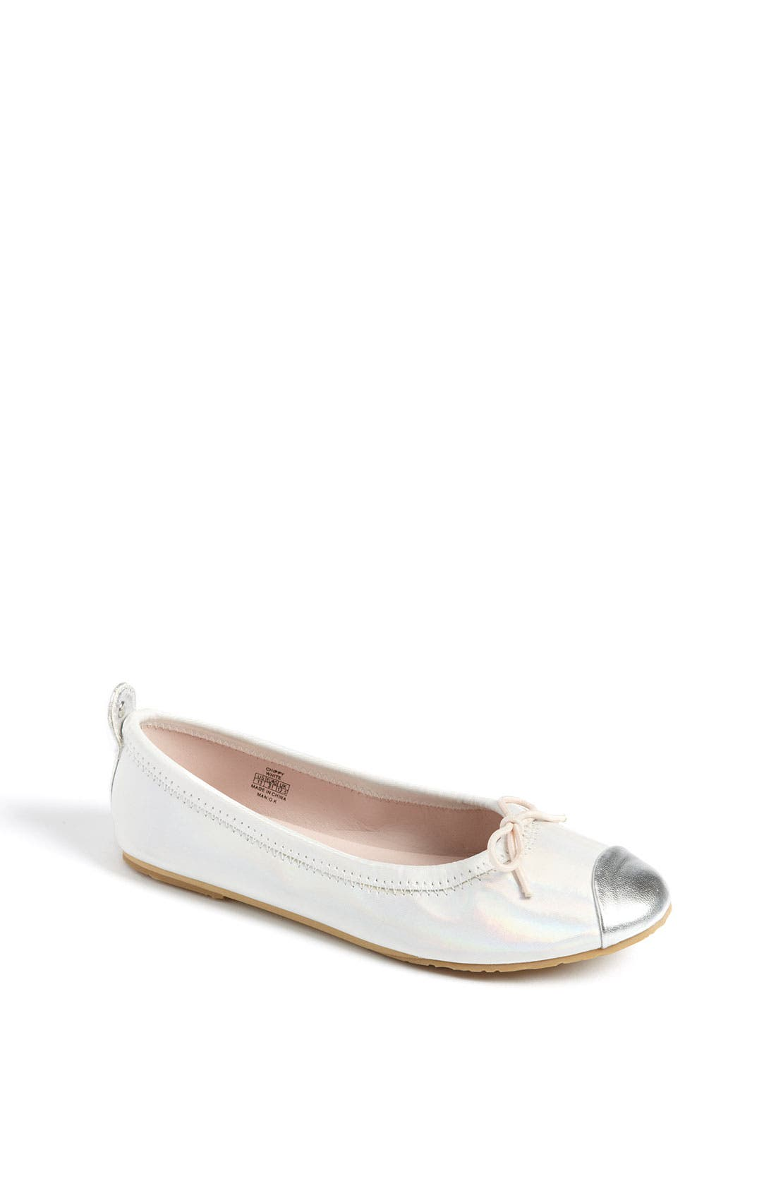 Alternate Image 1 Selected - Stuart Weitzman 'Chippy' Flat (Toddler, Little Kid & Big Kid)