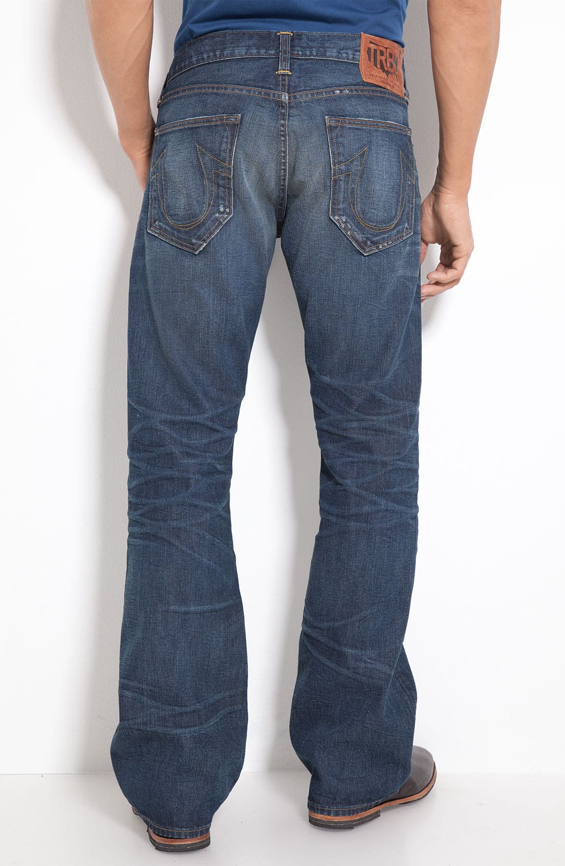 Alternate Image 1 Selected - True Religion Brand Jeans 'Danny Phoenix' Bootcut Jeans (Blue Grass)