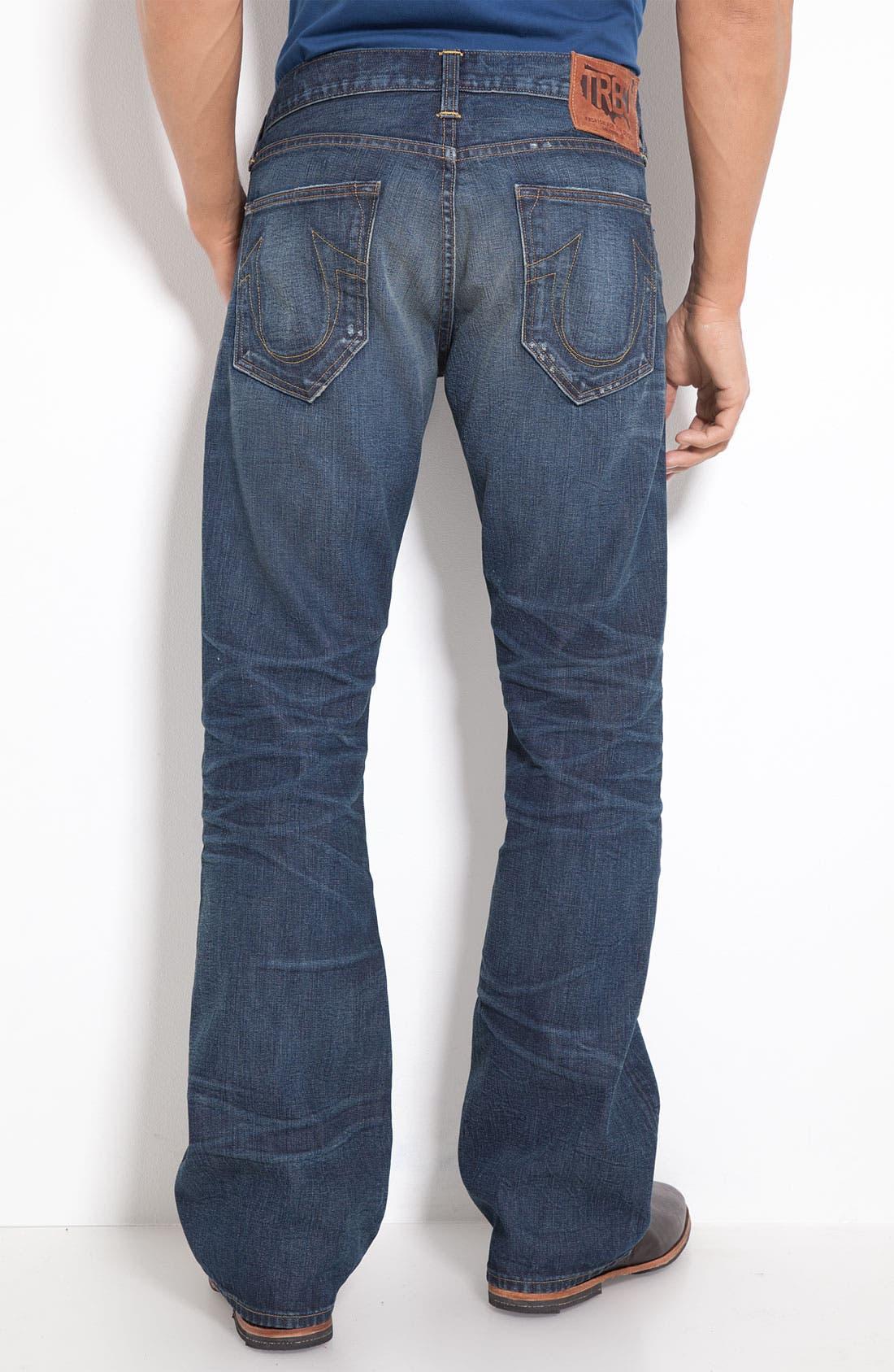 Main Image - True Religion Brand Jeans 'Danny Phoenix' Bootcut Jeans (Blue Grass)