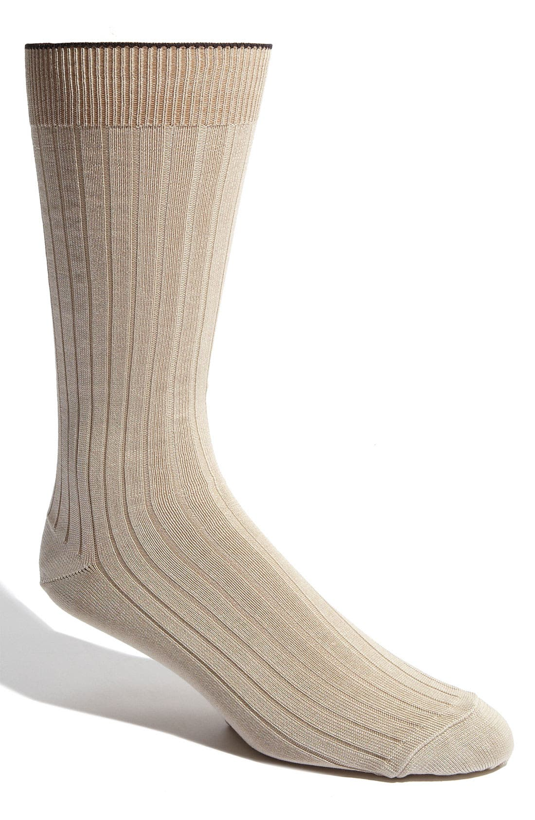 Nordstrom Mens Shop Cotton Blend Socks (Men) (3 for $30)