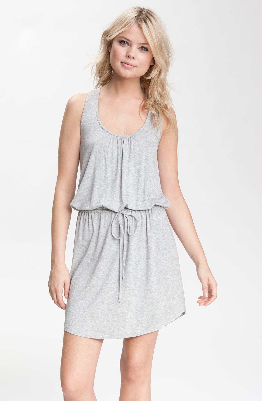 Alternate Image 1 Selected - Caslon® Crisscross-Back Jersey Dress