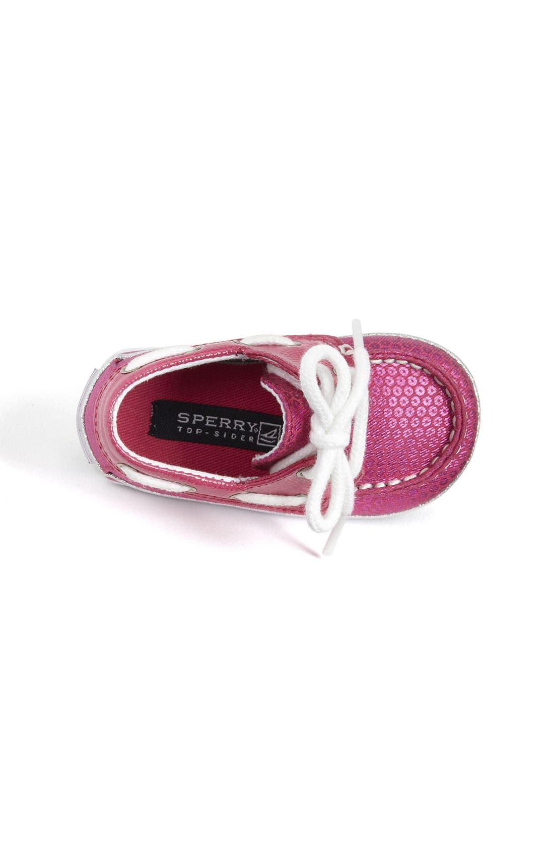 Alternate Image 3  - Sperry Top-Sider® 'Bahama' Crib Shoe (Baby)