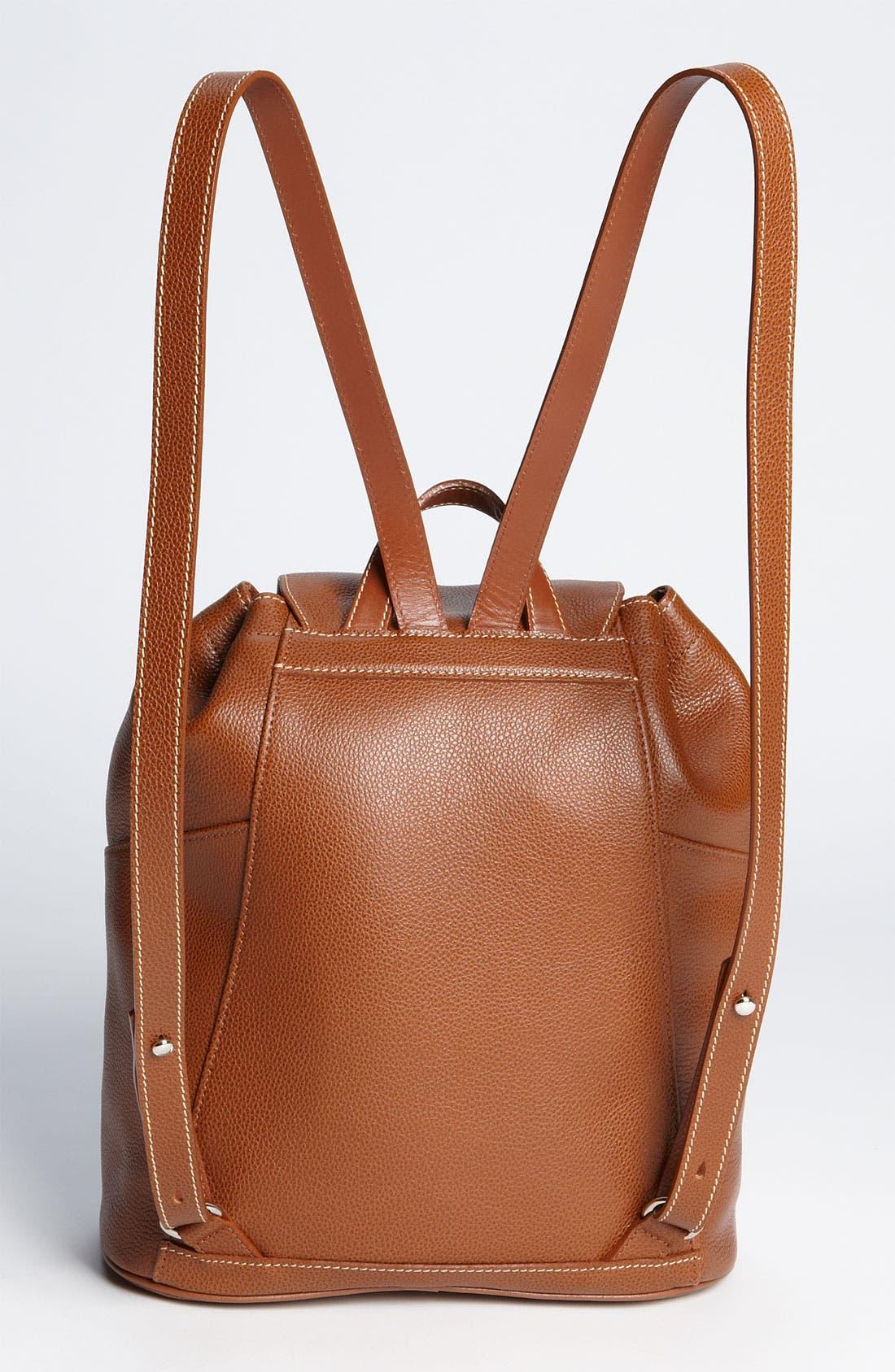 Alternate Image 4  - Longchamp Leather Backpack