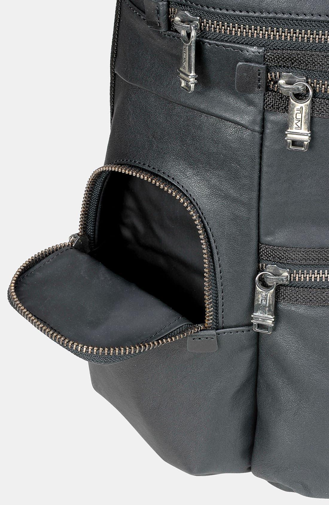 Alternate Image 4  - Tumi 'Alpha Bravo - Knox' Leather Backpack