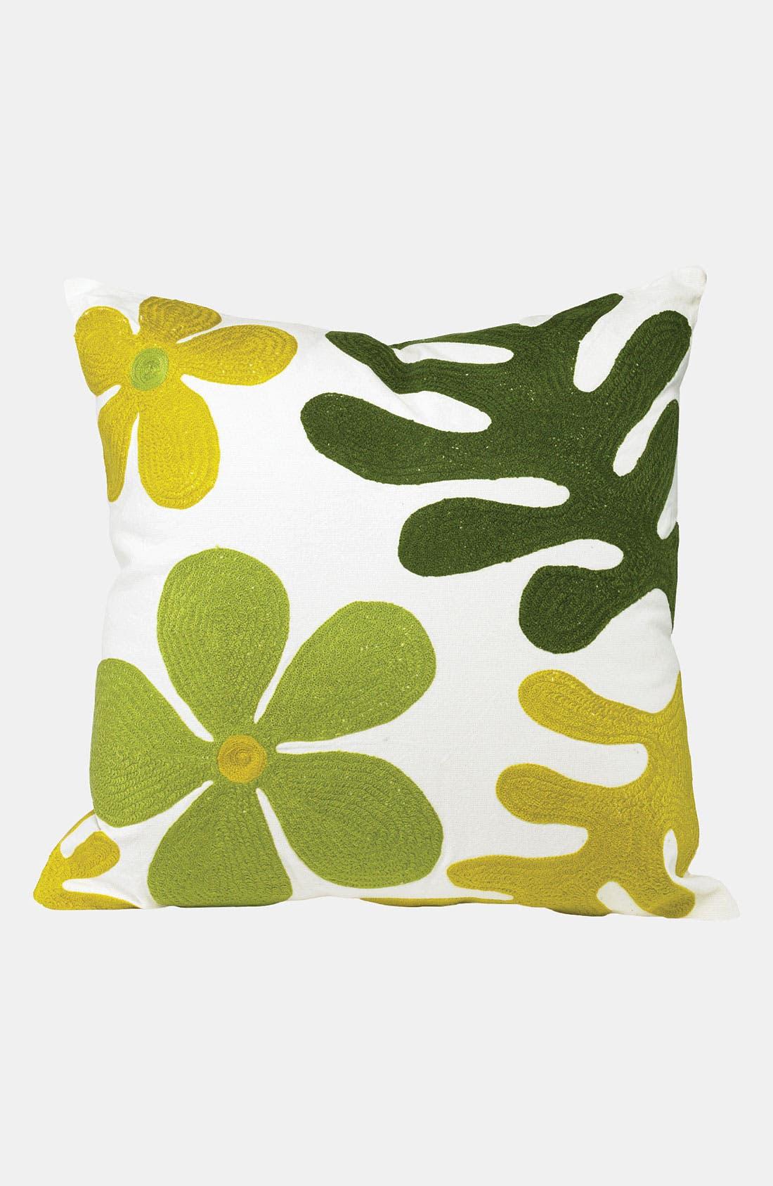 Alternate Image 1 Selected - K & K Interiors 'Flower' Pillow