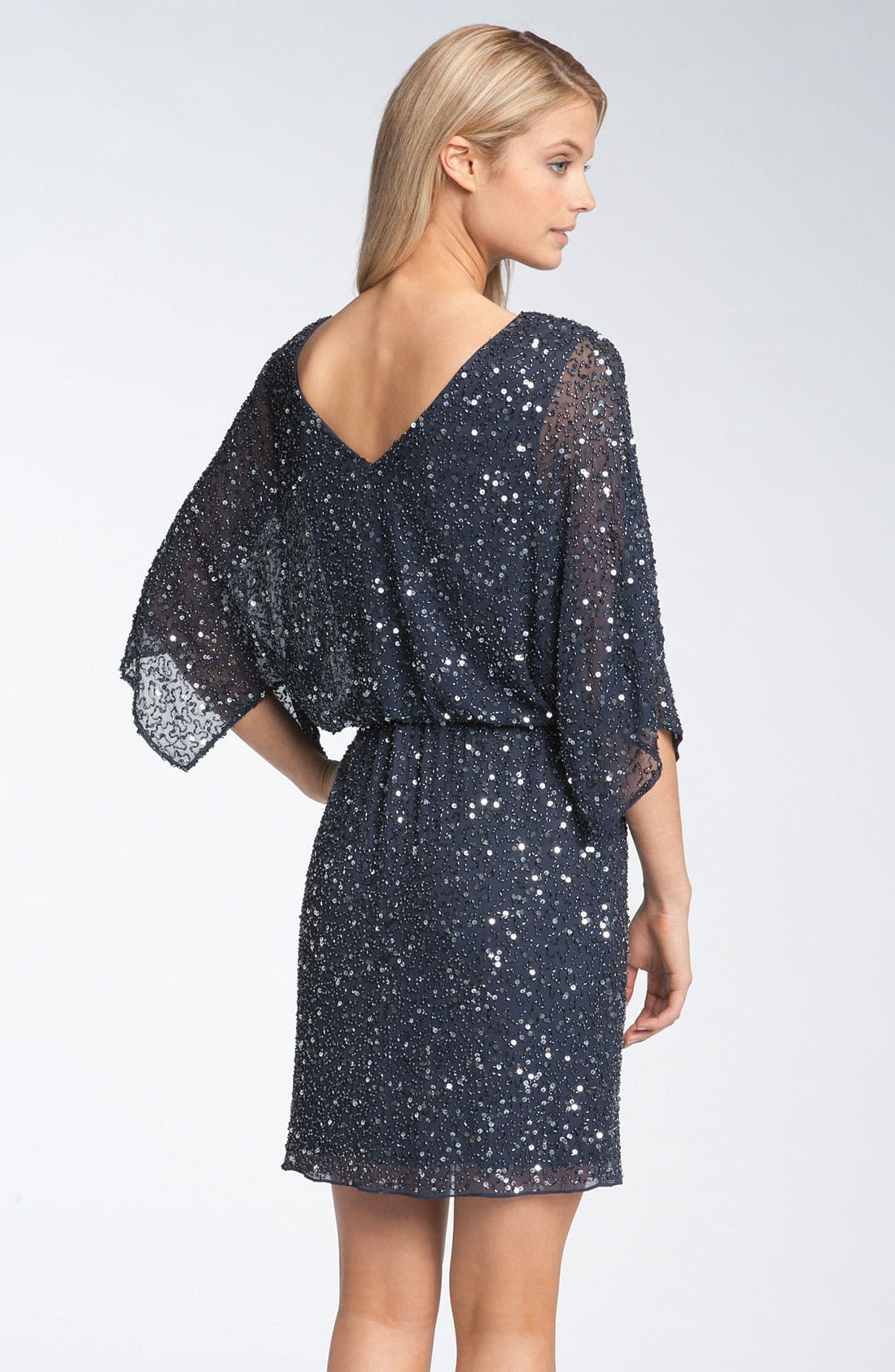 Alternate Image 2  - Pisarro Nights Beaded Kimono Sleeve Dress