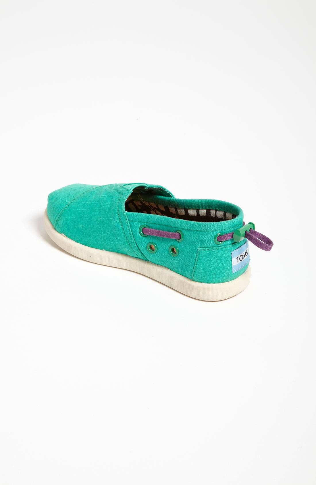 Alternate Image 2  - TOMS 'Classic Tiny - Bimini' Slip-On (Baby, Walker & Toddler)