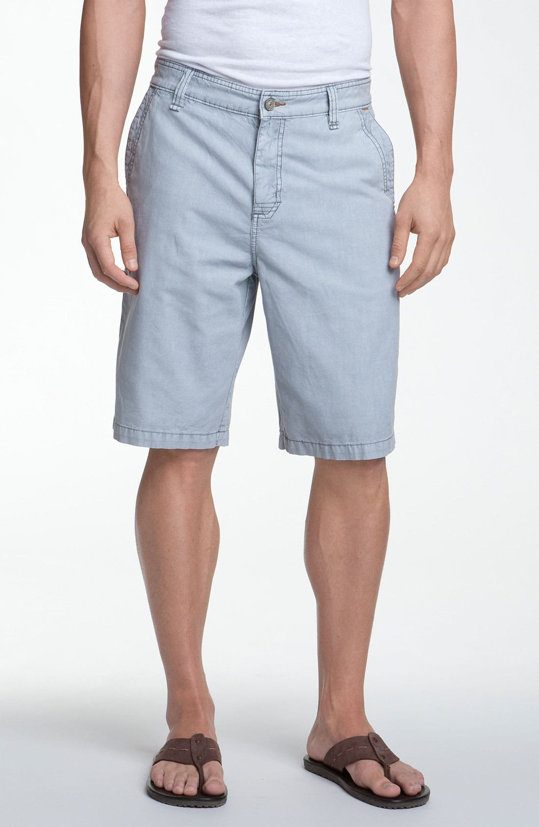 Main Image - Tommy Bahama Denim 'Simon' Flat Front Shorts