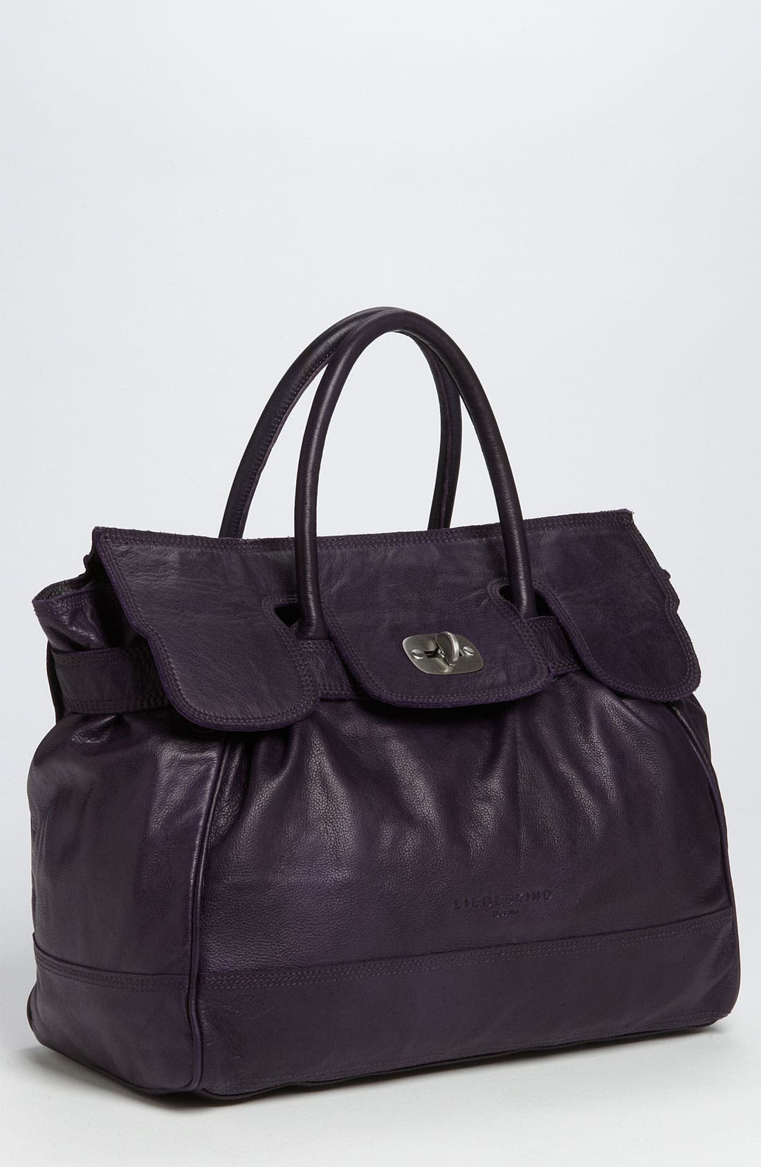 Alternate Image 1 Selected - Liebeskind 'Mia - Large' Soft Leather Satchel