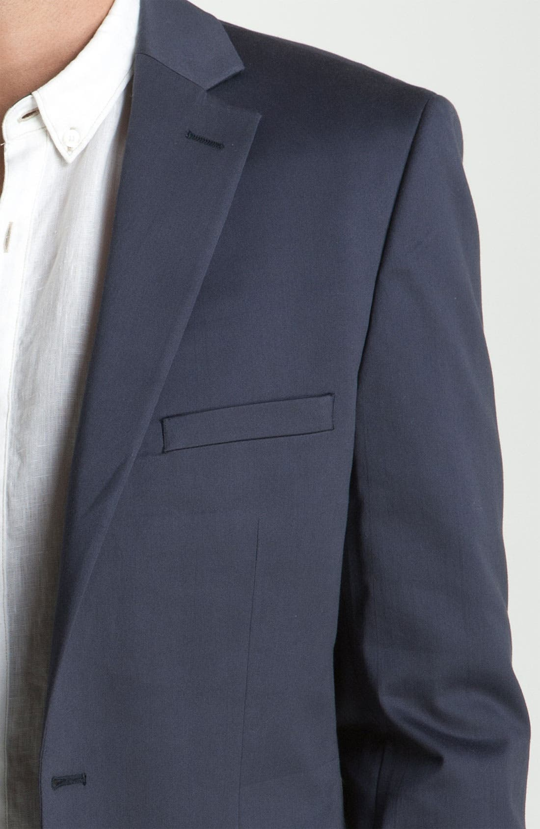 Alternate Image 3  - Calibrate Trim Fit Cotton Sportcoat