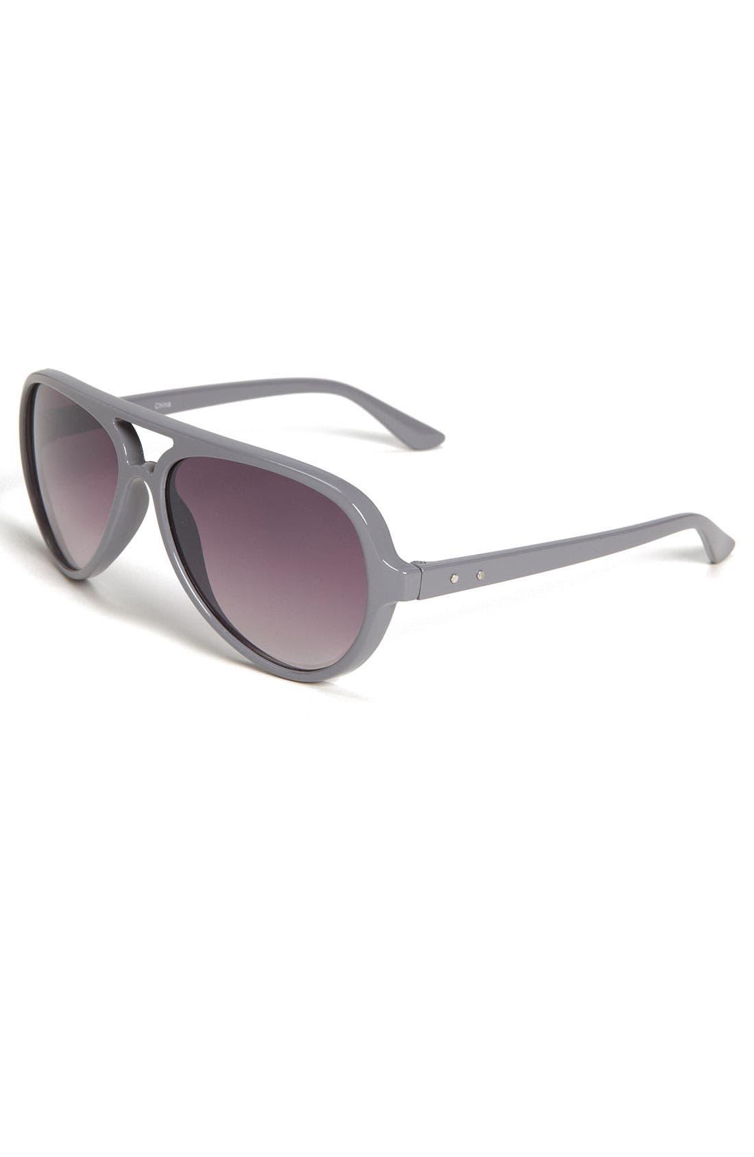 Alternate Image 1 Selected - Icon Eyewear 'Nick' Aviator Sunglasses (Big Boys)