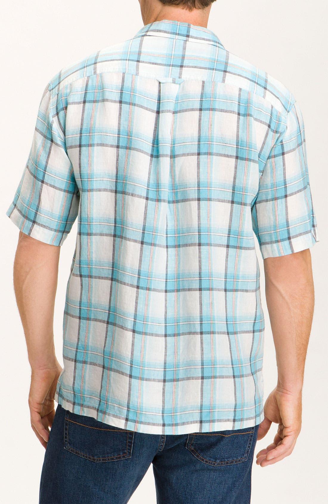 Alternate Image 2  - Tommy Bahama 'Plaid City Limits' Sport Shirt