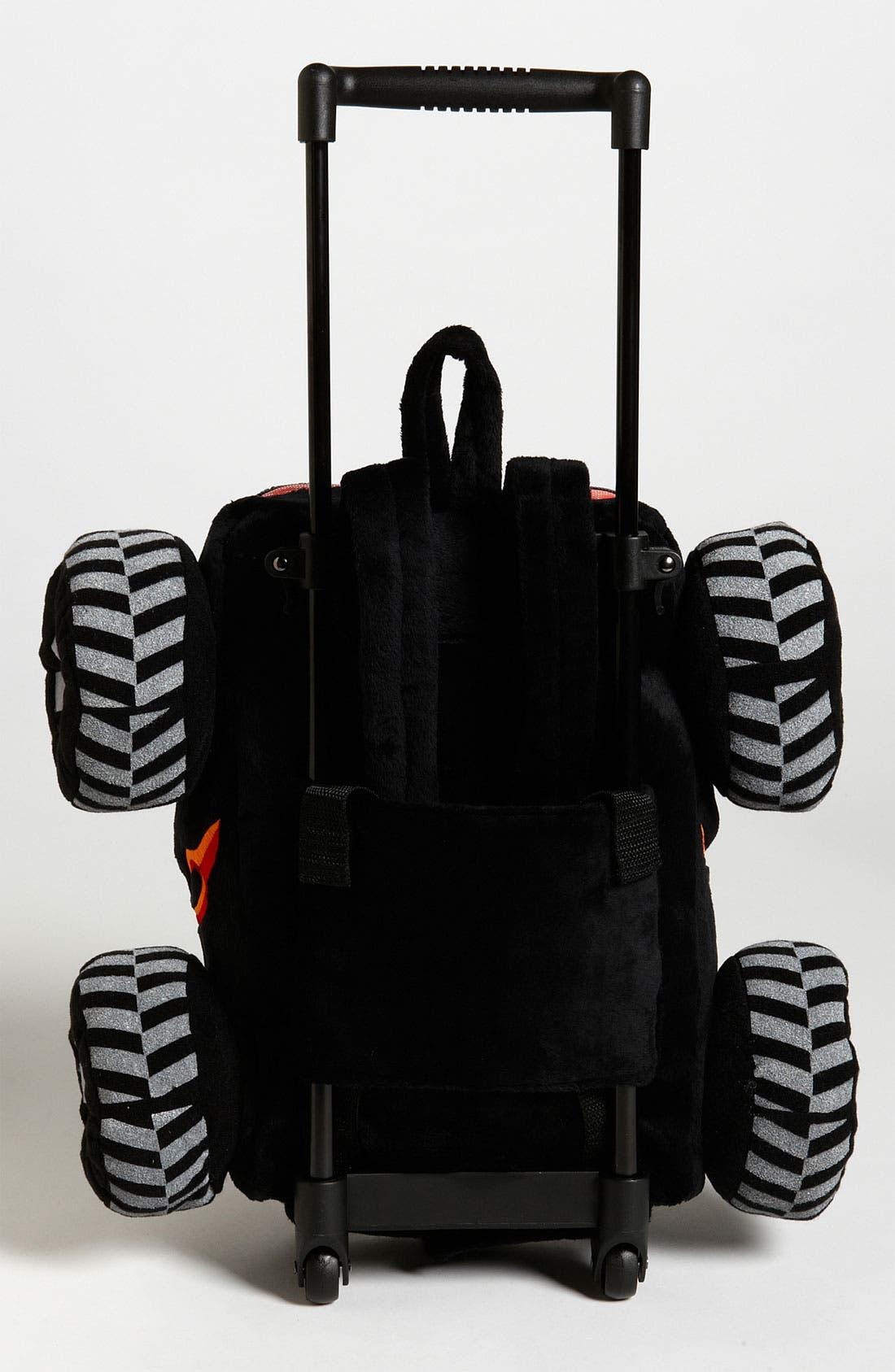 Alternate Image 4  - Popatu 'Monster Truck' Rolling Backpack (Toddler)