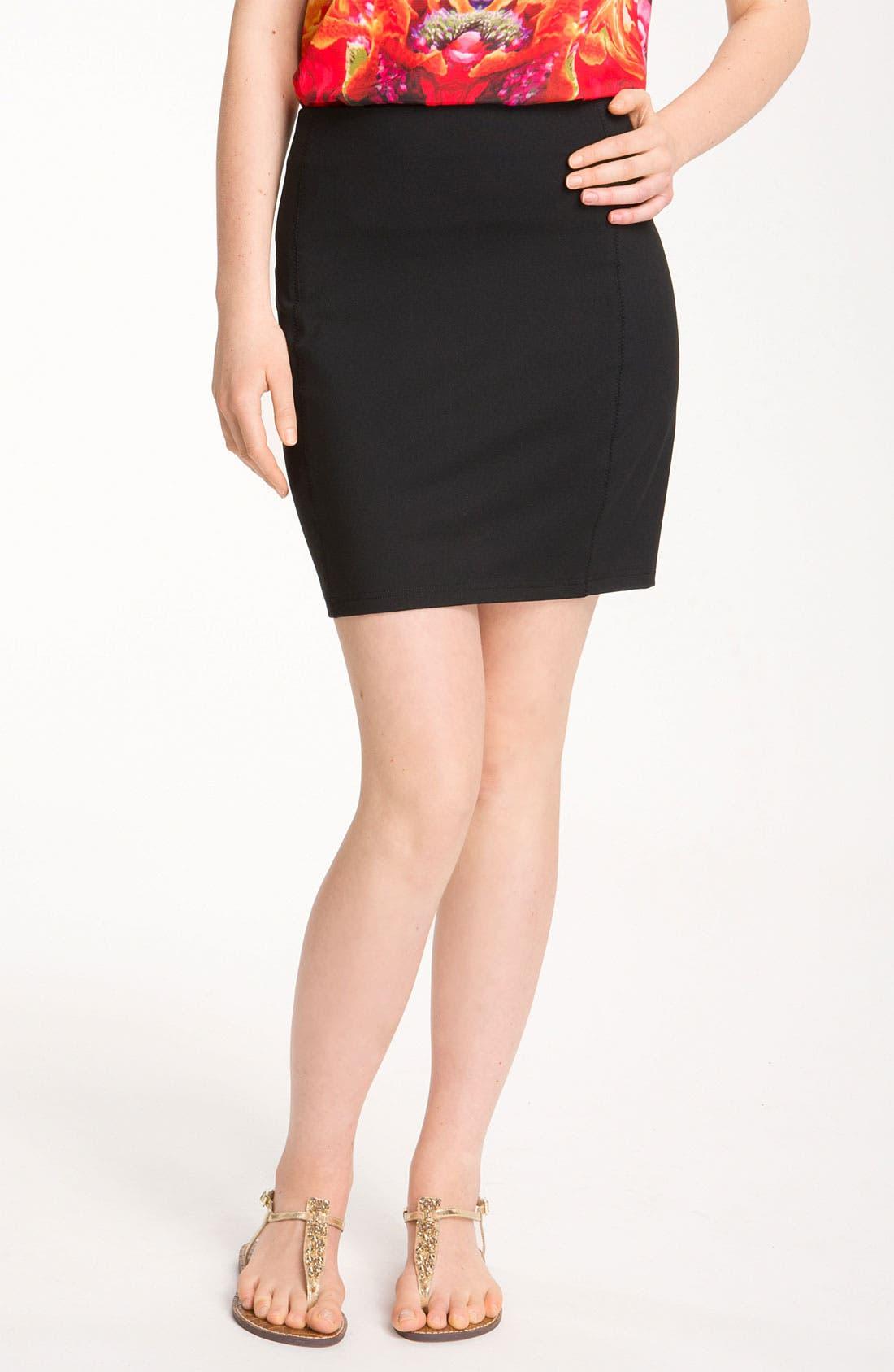Alternate Image 1 Selected - Trouvé Miniskirt