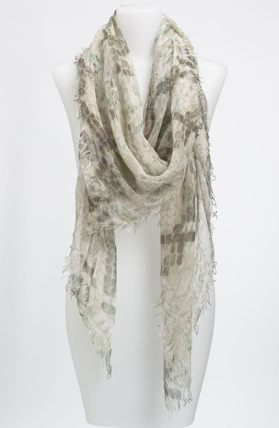 Alternate Image 1 Selected - Collection XIIX Python Print Square Scarf