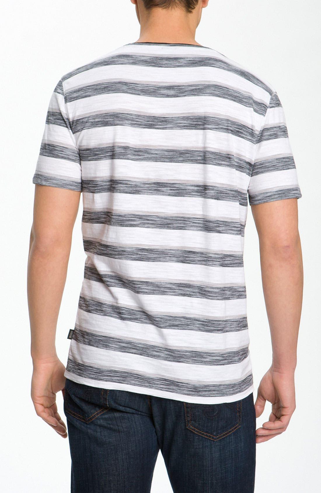 Alternate Image 2  - BOSS Black 'Eraldo' V-Neck T-Shirt