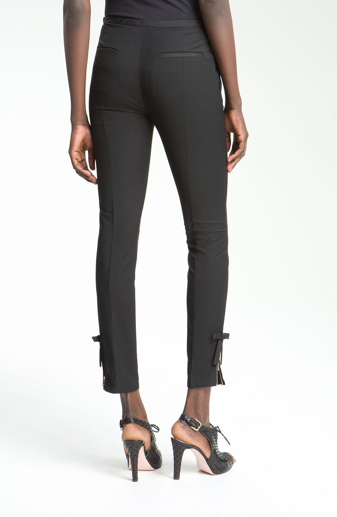 Alternate Image 3  - RED Valentino Slim Ankle Length Pants