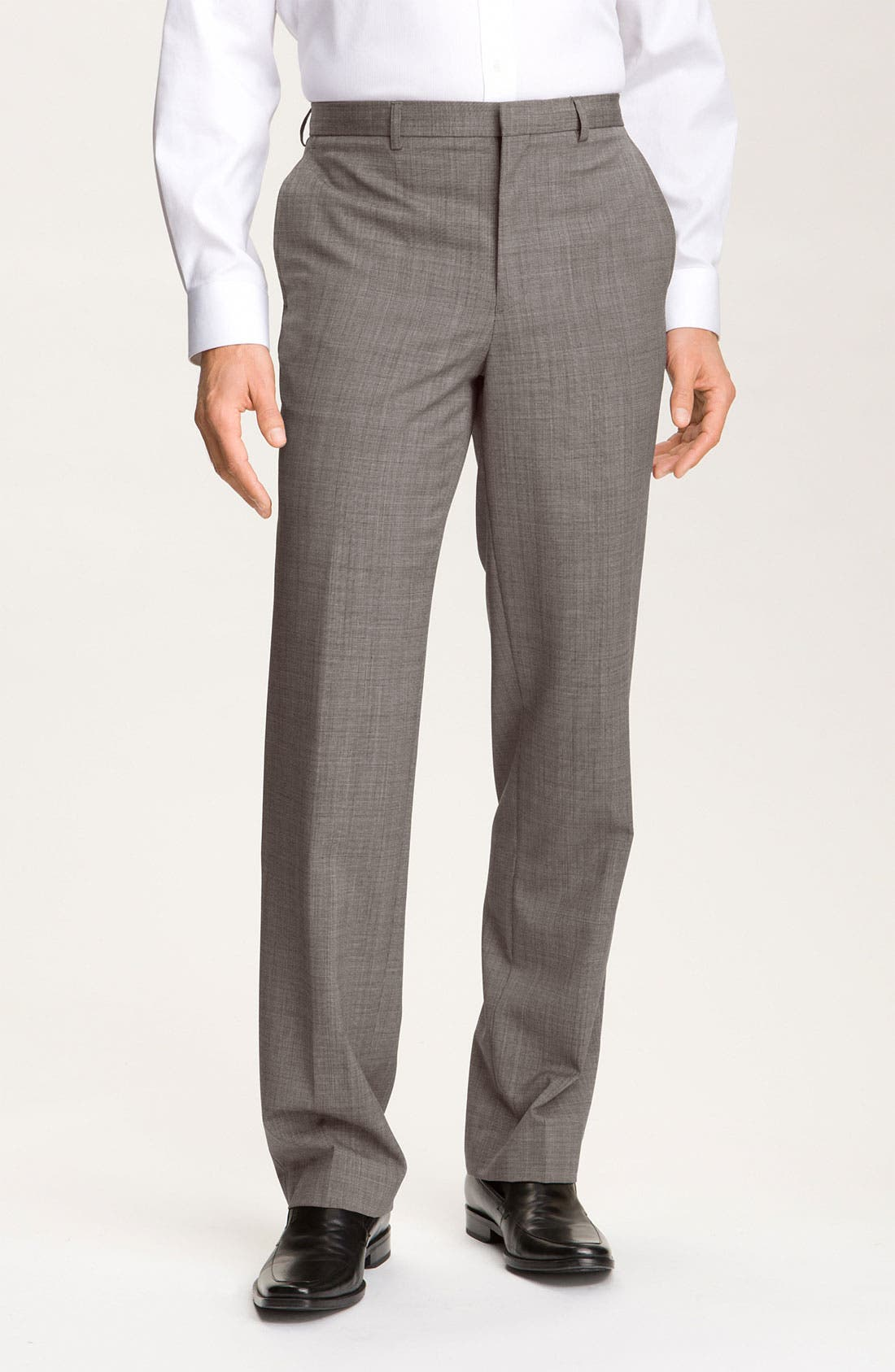 Alternate Image 1 Selected - Calibrate Flat Front Wool Pants