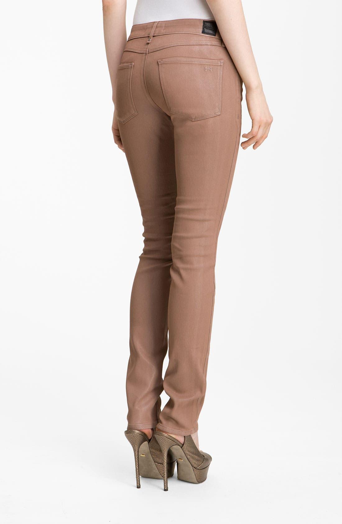 Alternate Image 2  - Habitual 'Alice' Coated Skinny Stretch Jeans