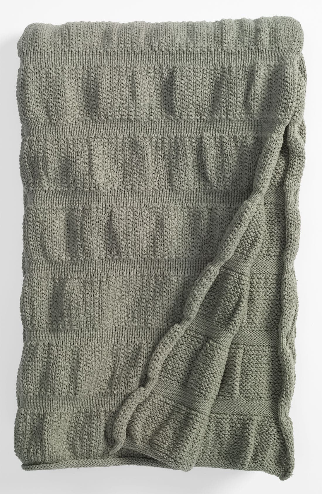 Alternate Image 1 Selected - Nordstrom at Home 'Ripple Knit' Throw
