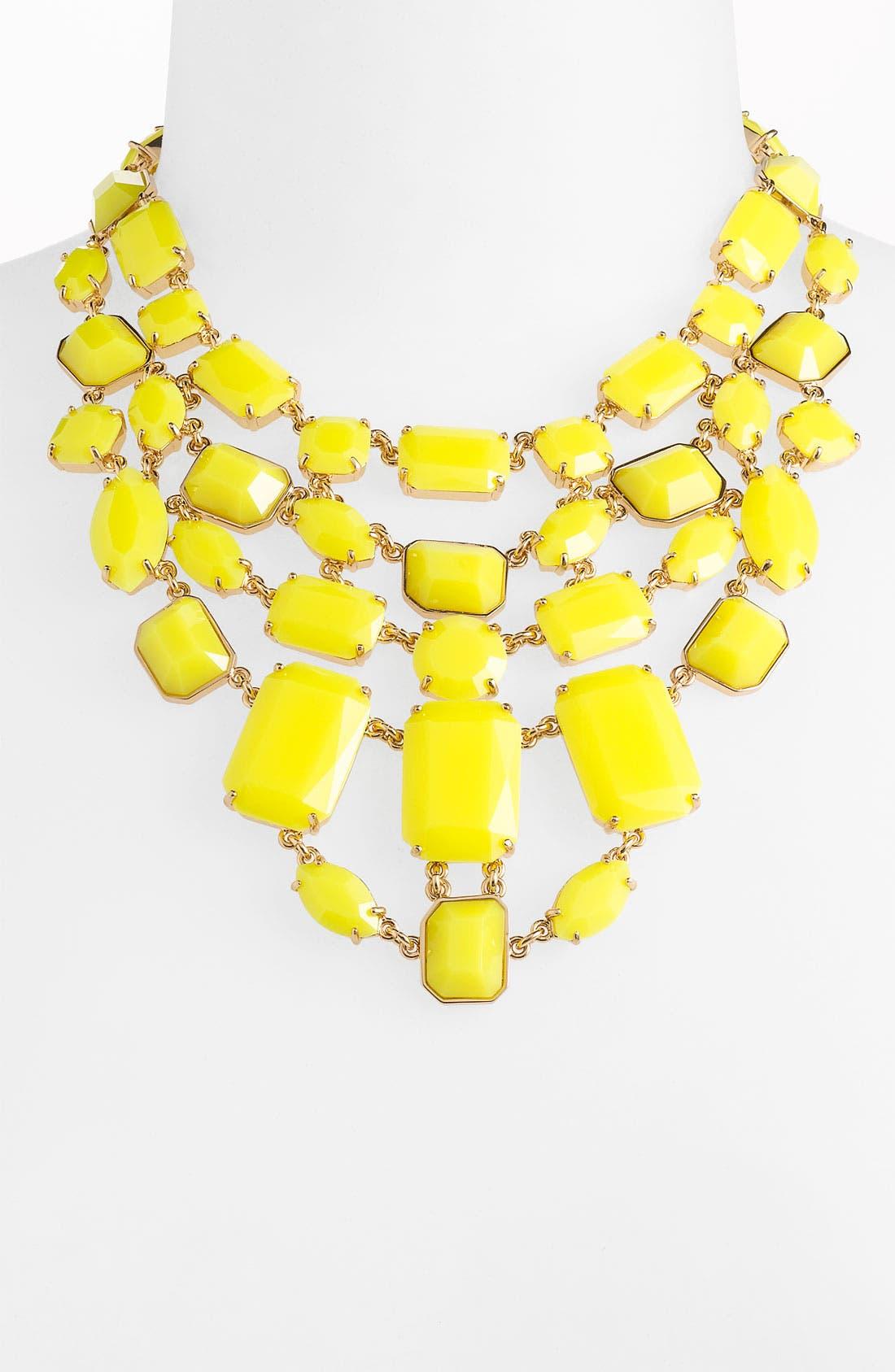 Alternate Image 1 Selected - kate spade new york 'mulholland drive' bib necklace