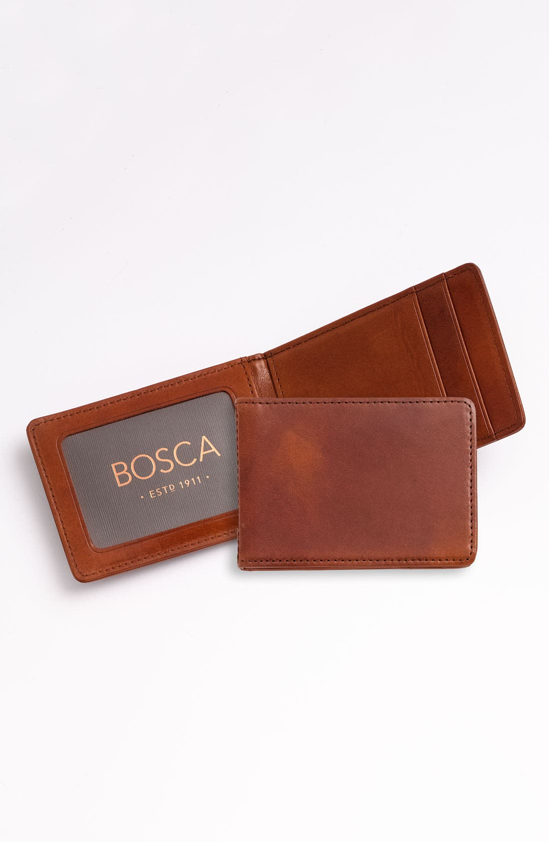 Main Image - Bosca 'Front Pocket' ID Wallet