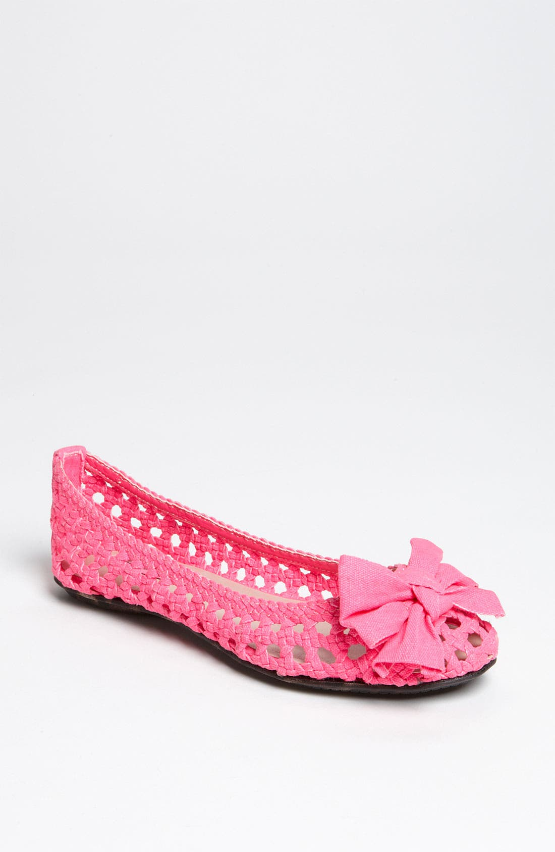 Alternate Image 1 Selected - Betsey Johnson 'Snippii' Flat