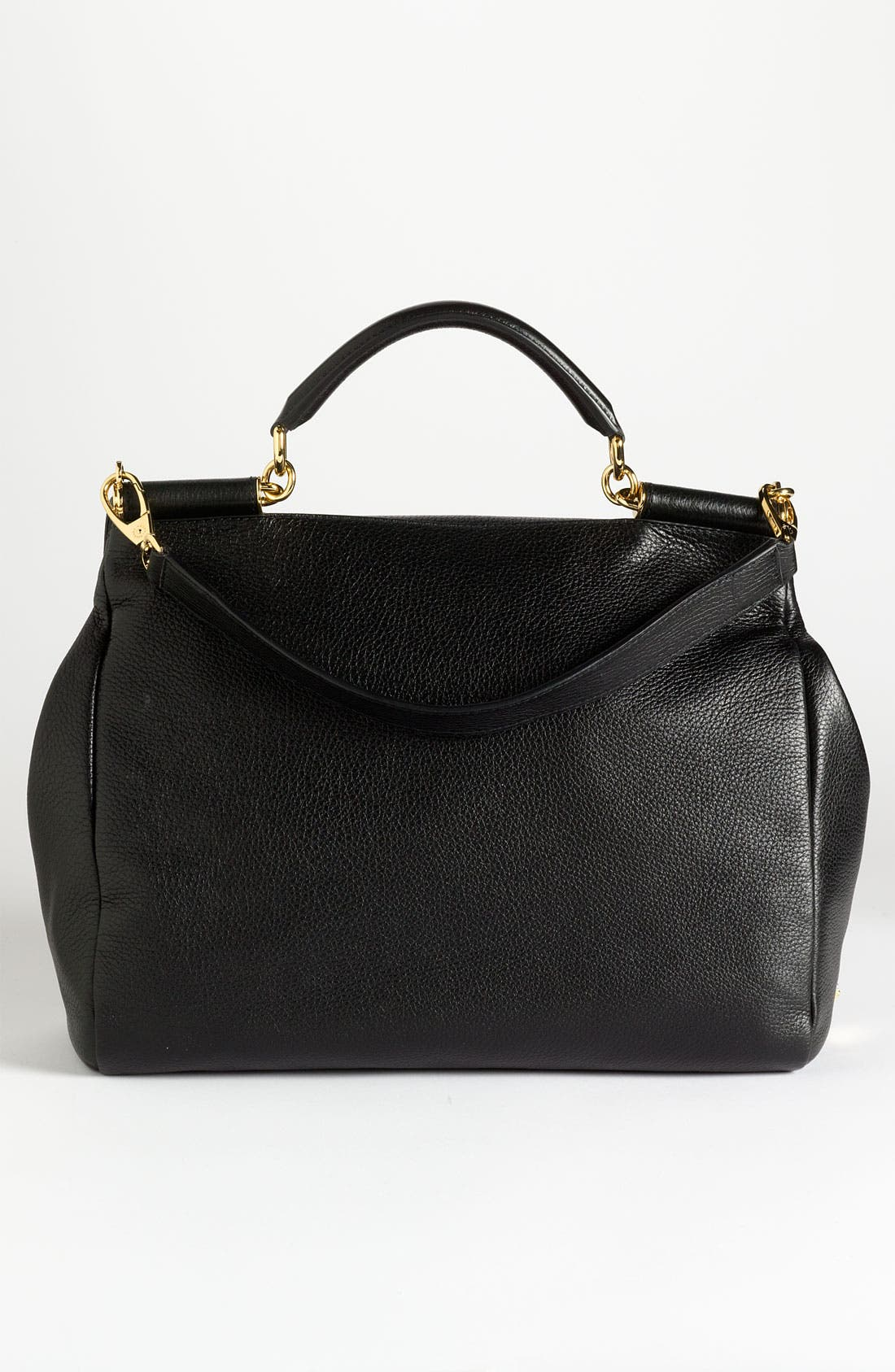 Alternate Image 4  - Dolce&Gabbana 'Miss Sicily Soft' Leather Satchel