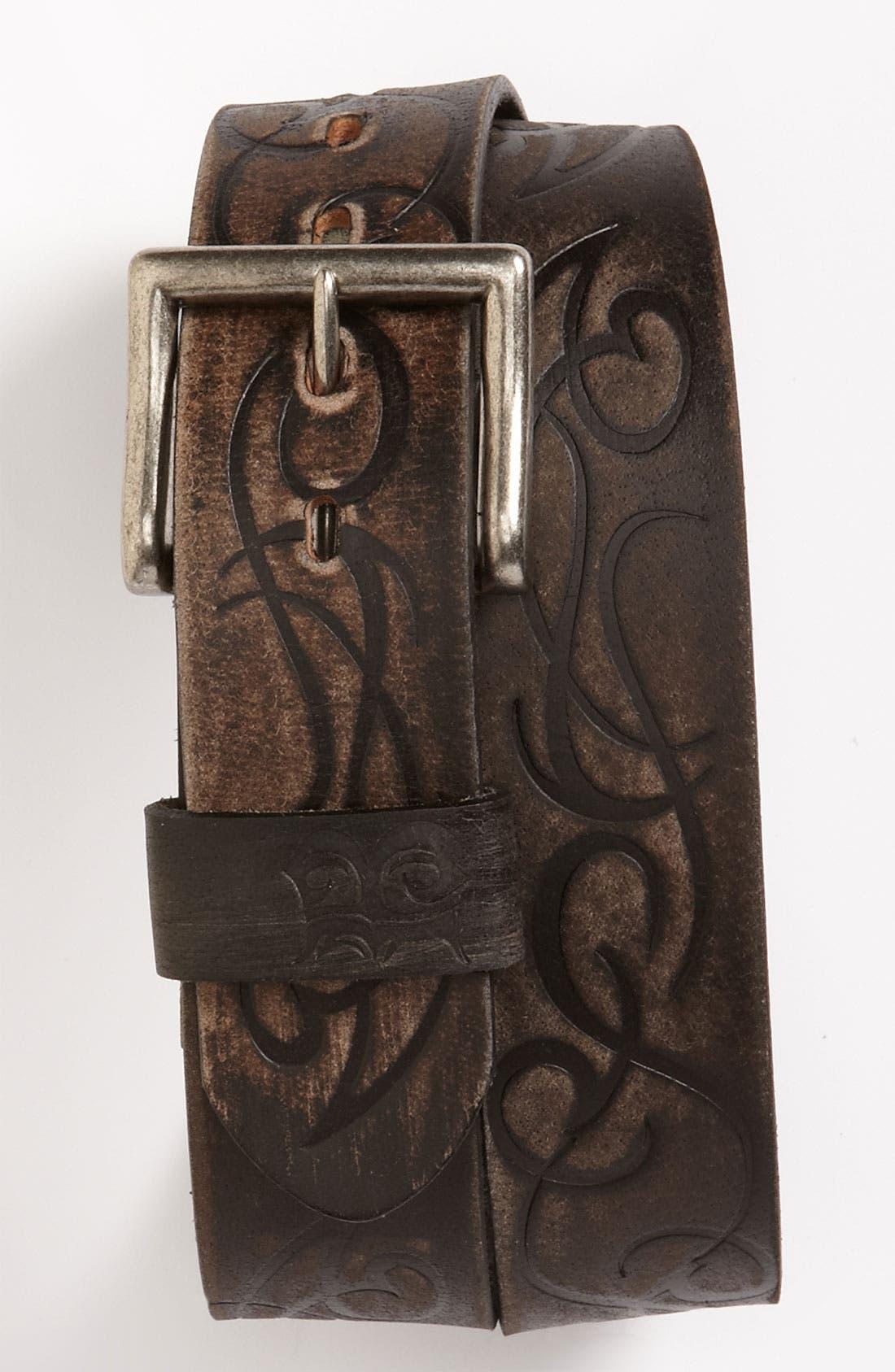Alternate Image 1 Selected - Bed Stu 'River' Leather Belt