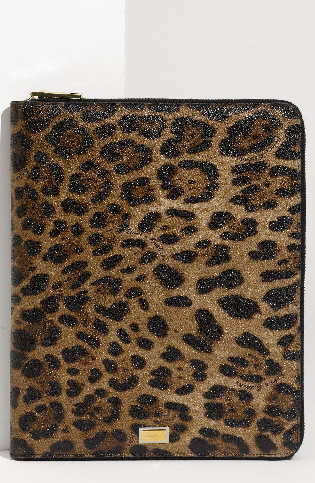 Alternate Image 1 Selected - Dolce&Gabbana Zip Around iPad Case