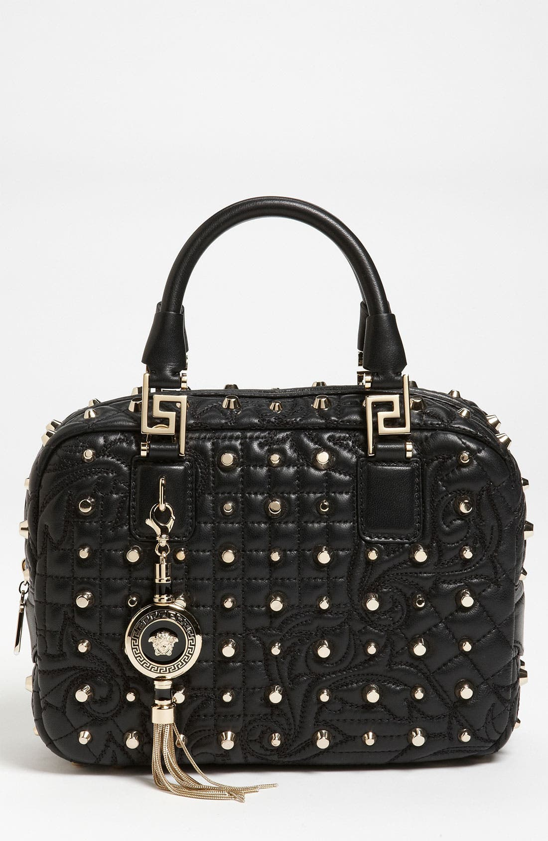 Alternate Image 1 Selected - Versace 'Vanitas - Small' Leather Satchel