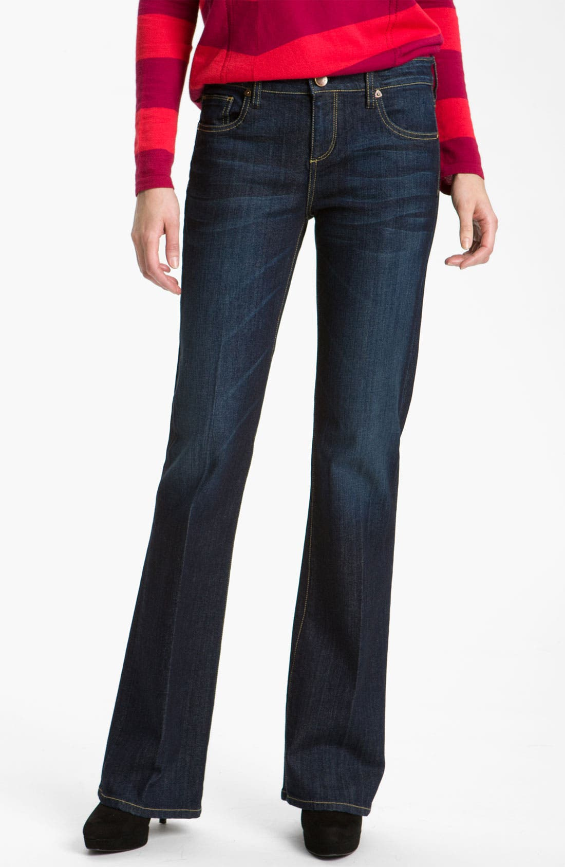 Alternate Image 1 Selected - KUT from the Kloth Baby Bootcut Jeans (Whim Wash)