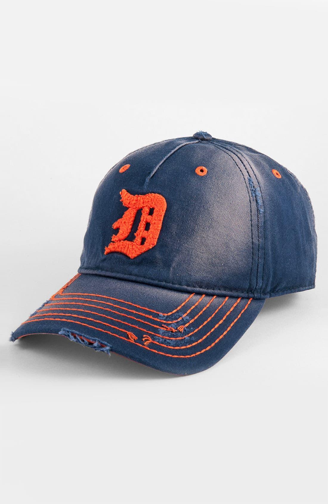 Main Image - American Needle 'Detroit Tigers' Distressed Cap