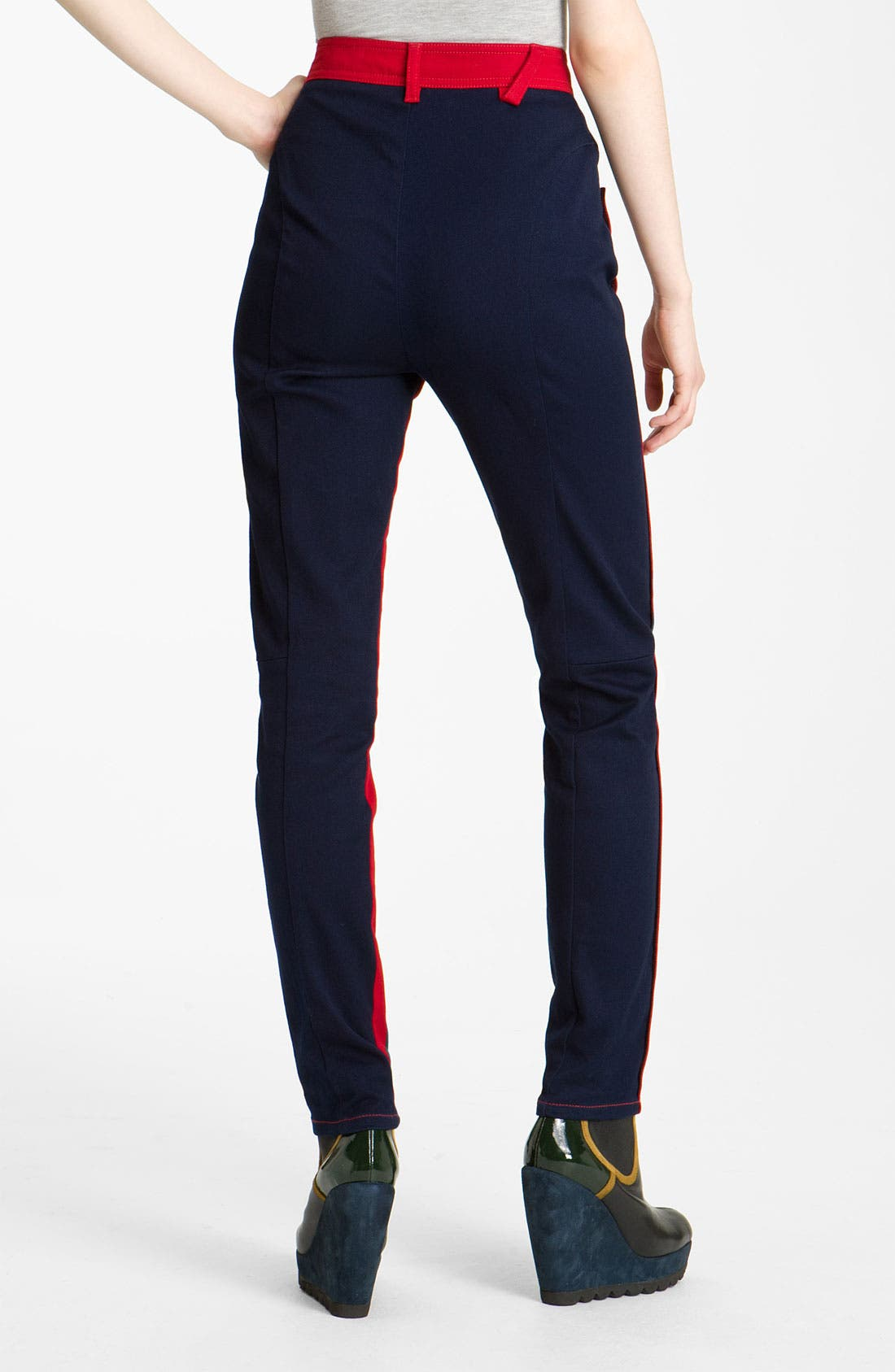 Alternate Image 1 Selected - KENZO Studded Colorblock Jeans