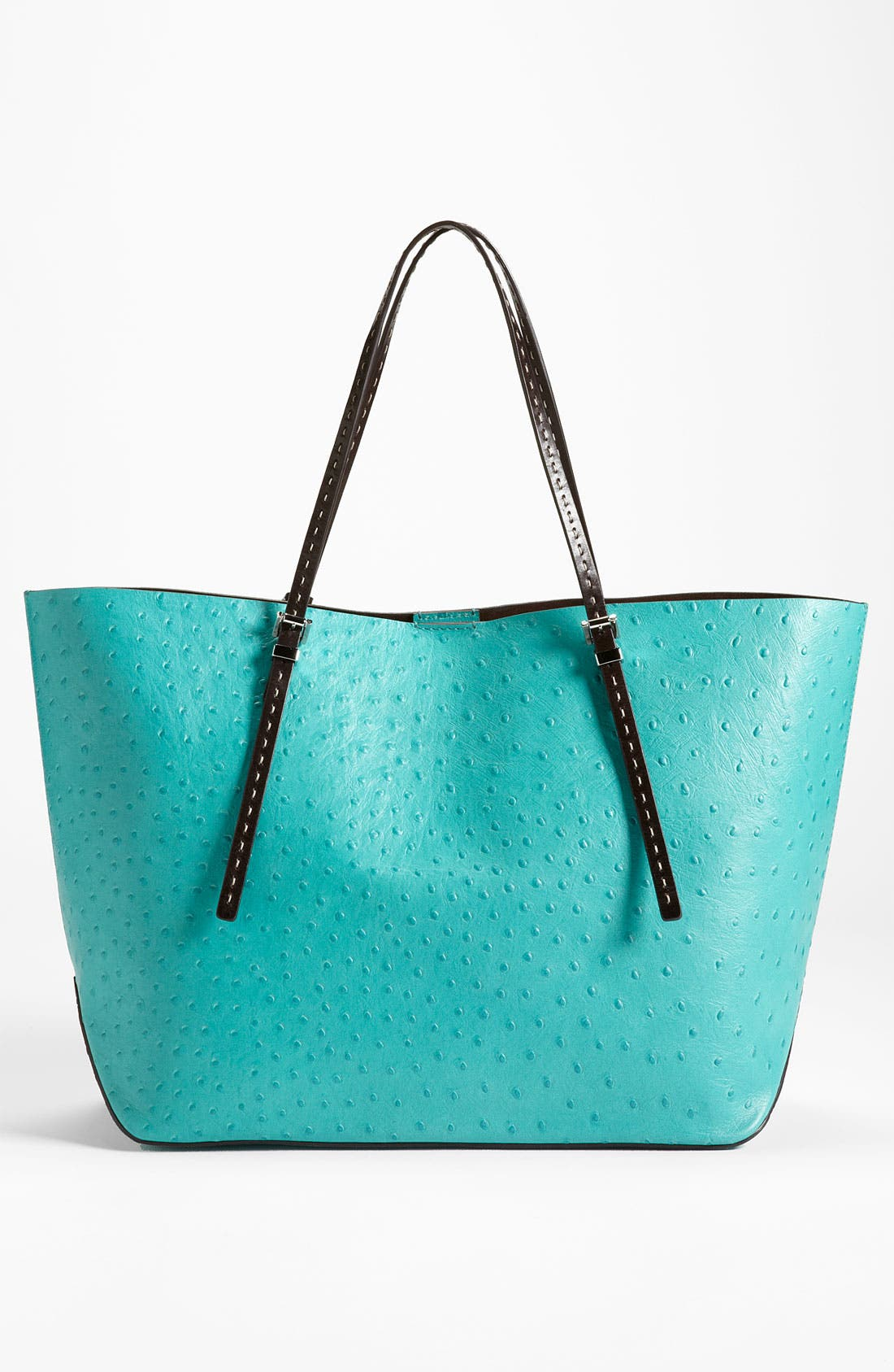 Alternate Image 4  - Michael Kors Ostrich Embossed Leather Tote
