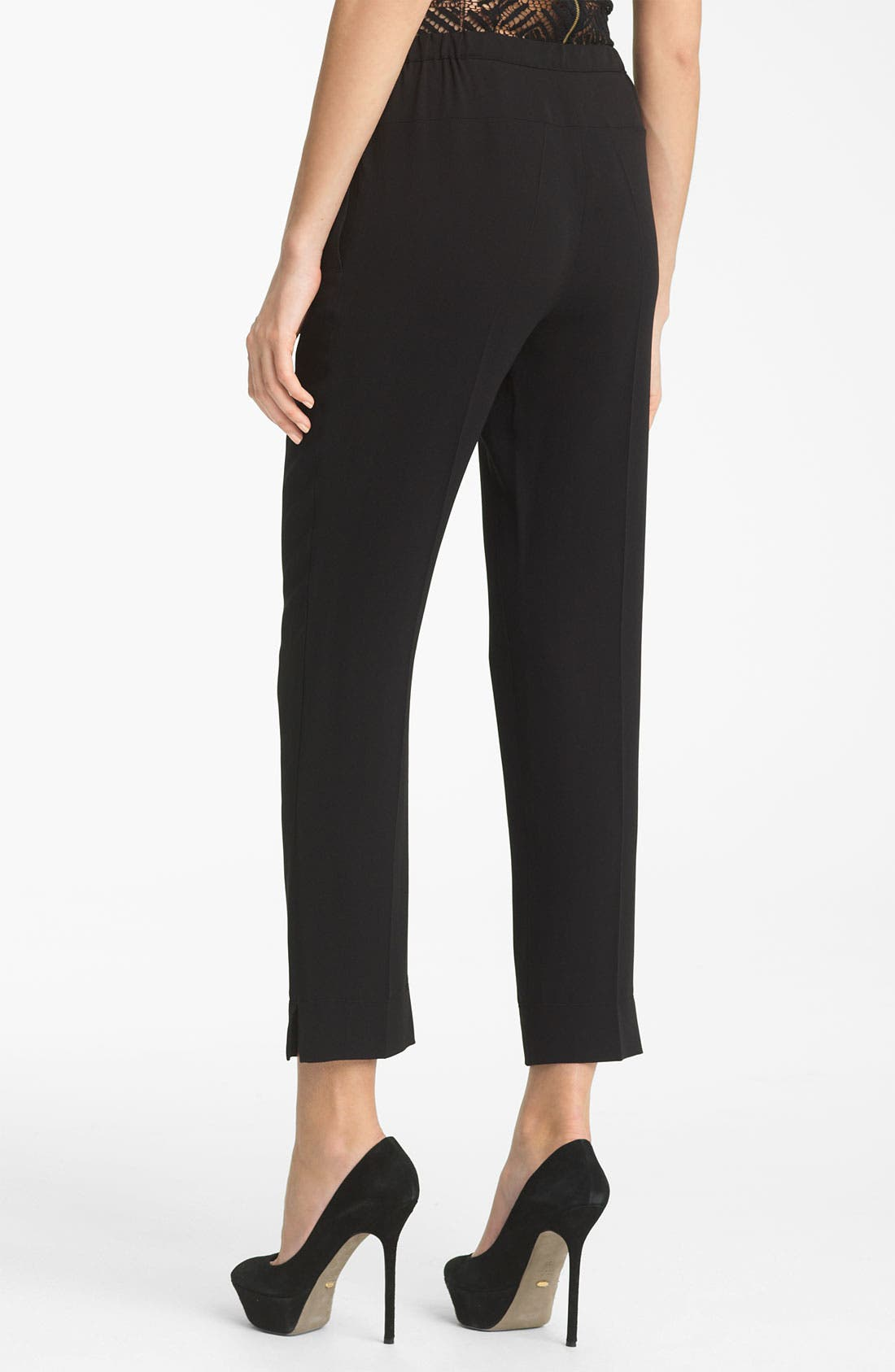 Alternate Image 2  - Nina Ricci Silk Crepe Pants