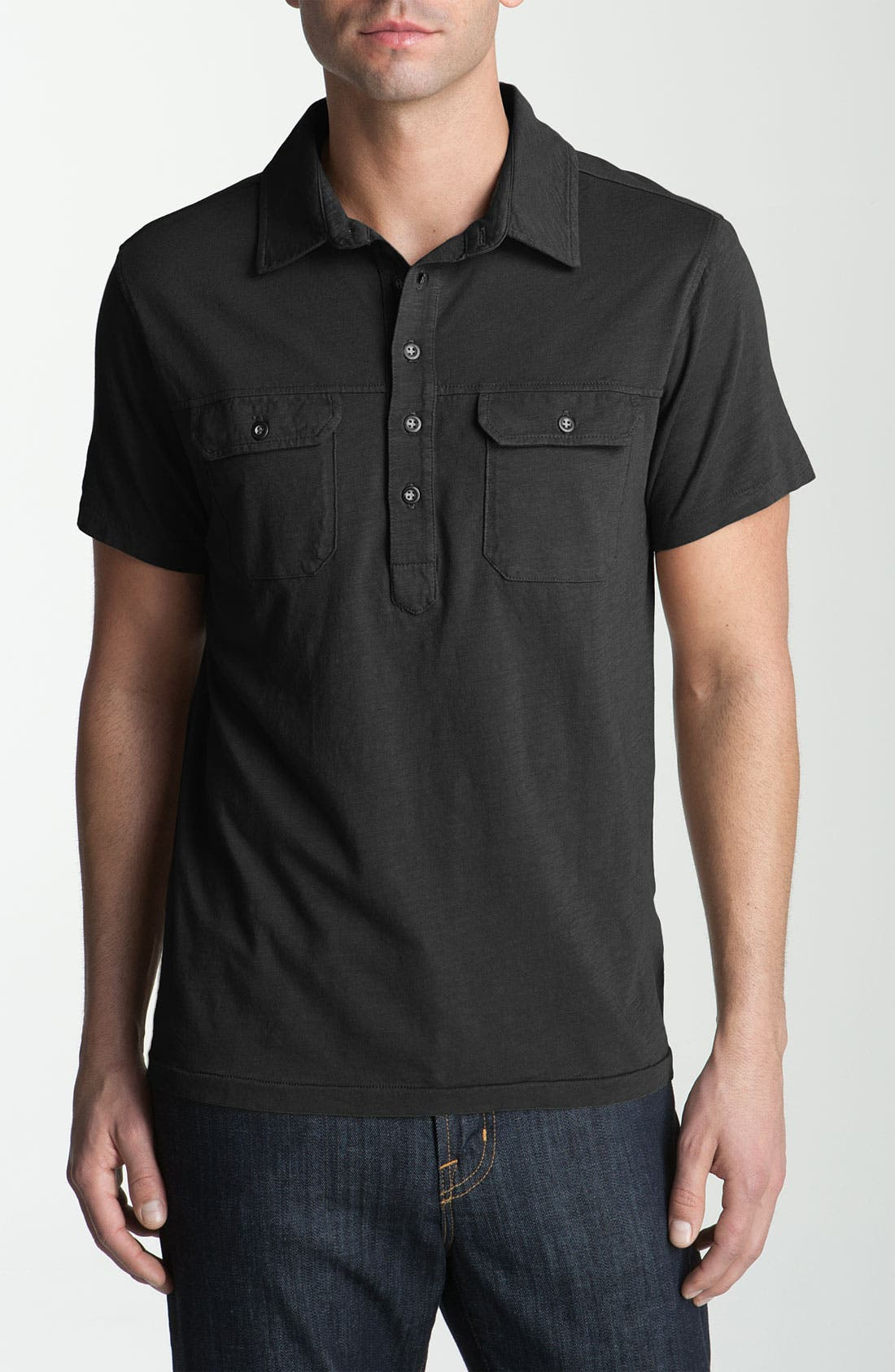 Alternate Image 1 Selected - AG Jeans Utility Polo