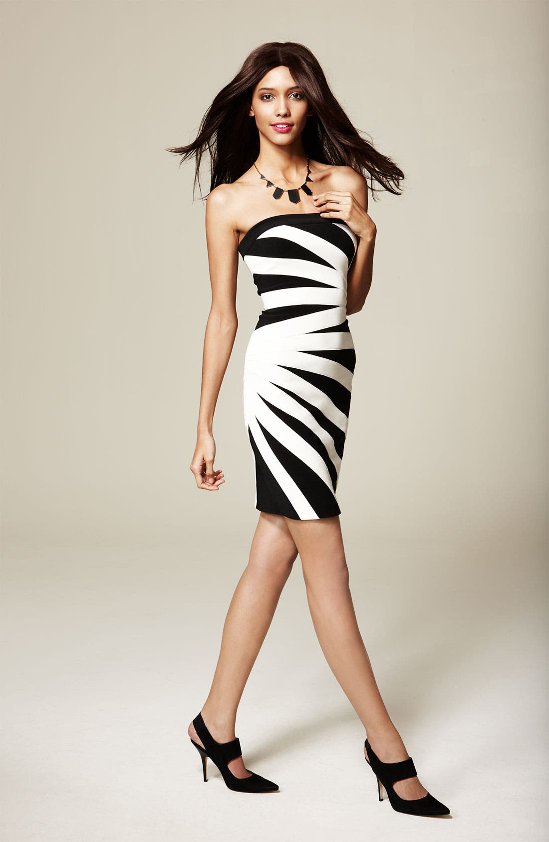 Alternate Image 4  - JS Collections Strapless Stretch Ottoman Sheath Dress