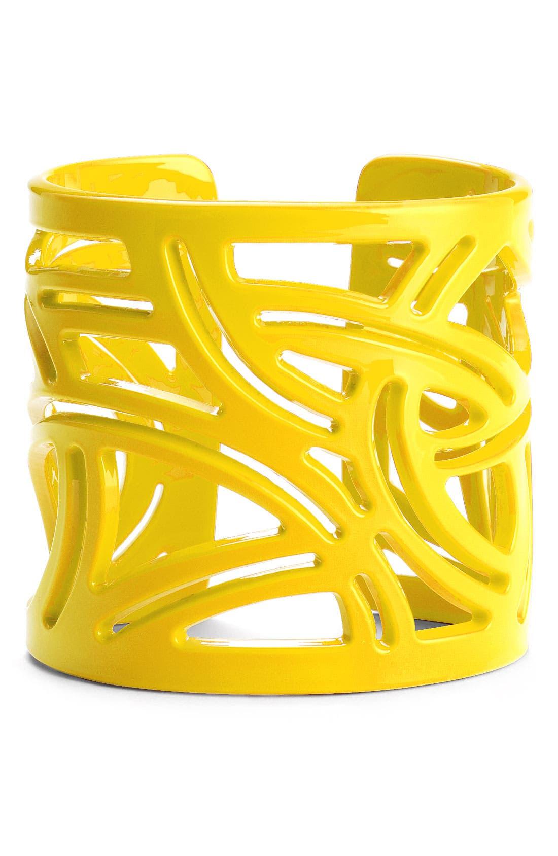 Main Image - Moschitto Designs Cutout Geometric Cuff