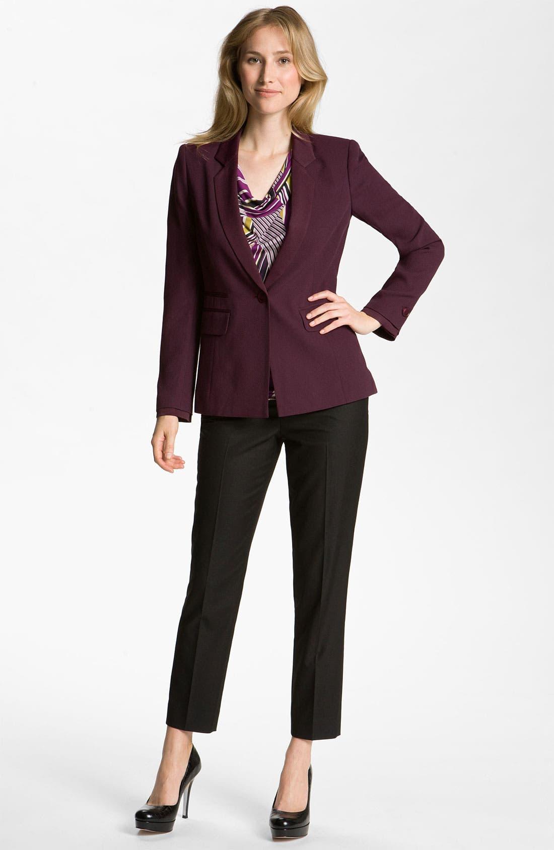 Alternate Image 4  - Classiques Entier® 'Nouveau' Drape Neck Jersey Top