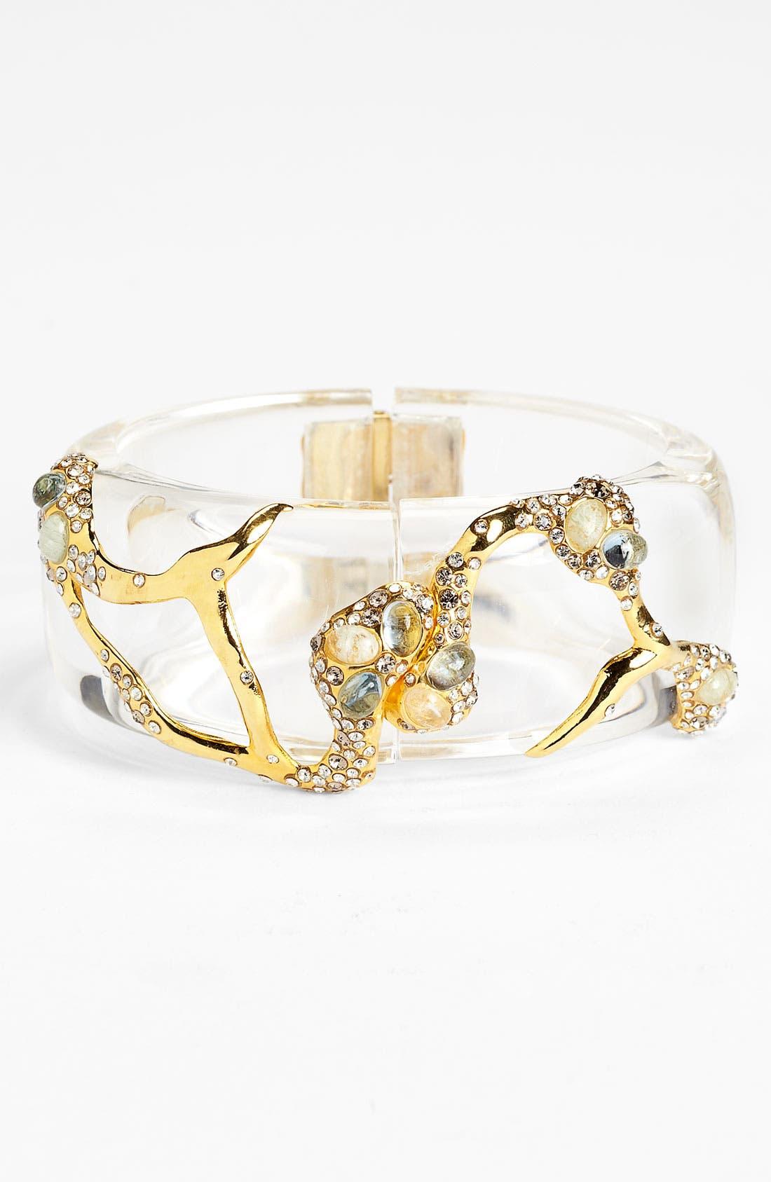 Alternate Image 1 Selected - Alexis Bittar 'Modernist - Embraced' Hinged Bracelet